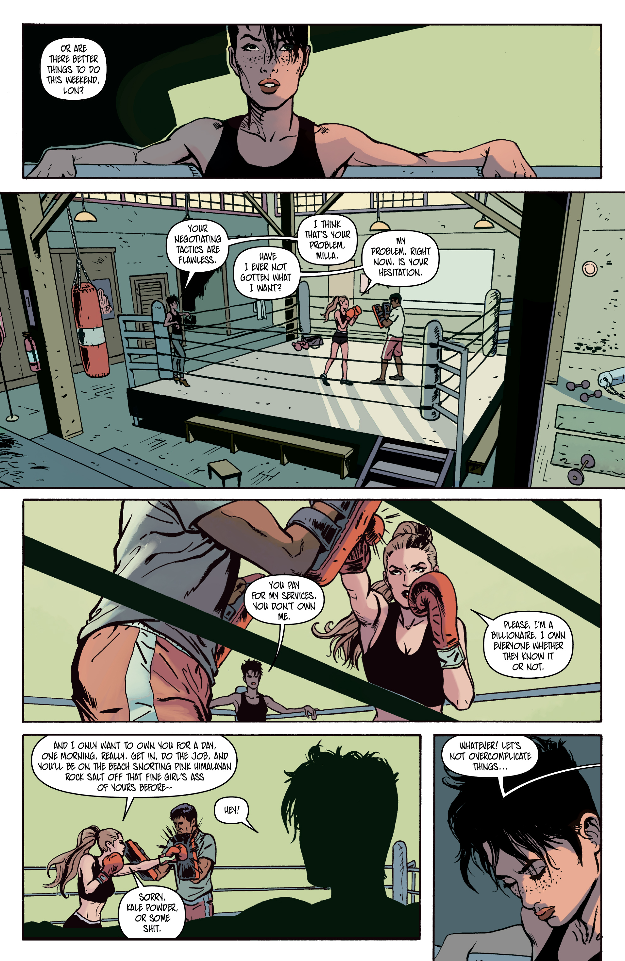 Read online Space Riders: Galaxy of Brutality comic -  Issue #2 - 26