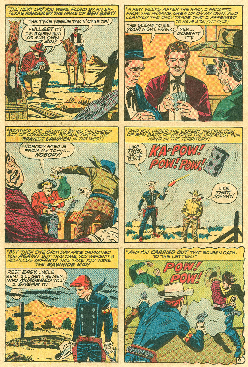 The Rawhide Kid (1955) issue 100 - Page 10