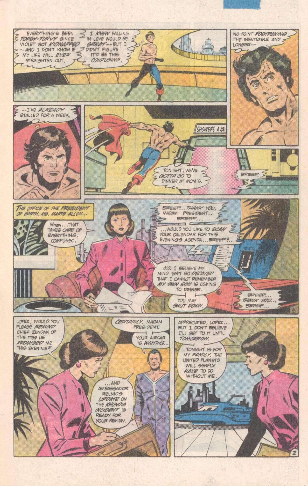 Legion of Super-Heroes (1980) 308 Page 16