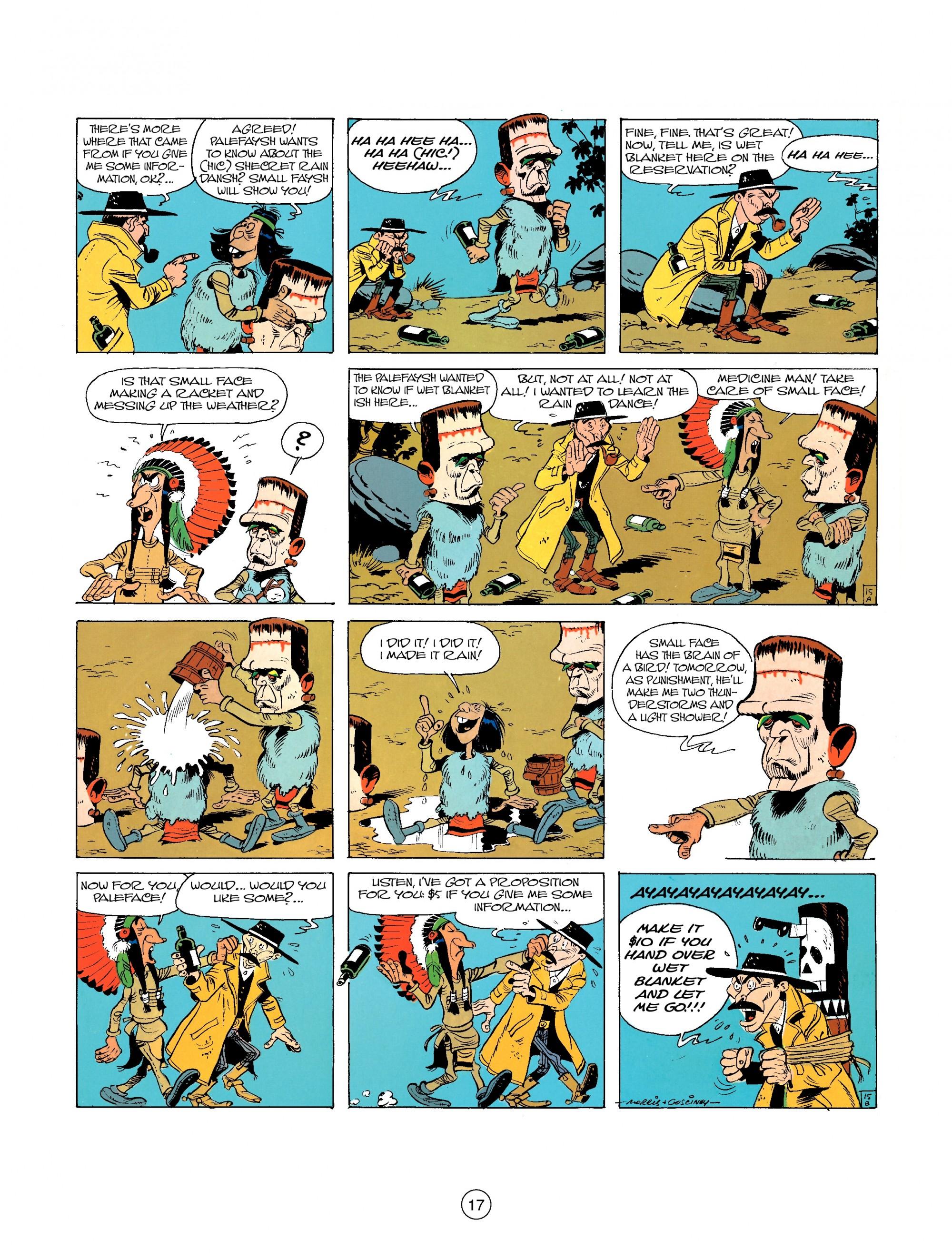 Read online A Lucky Luke Adventure comic -  Issue #26 - 17