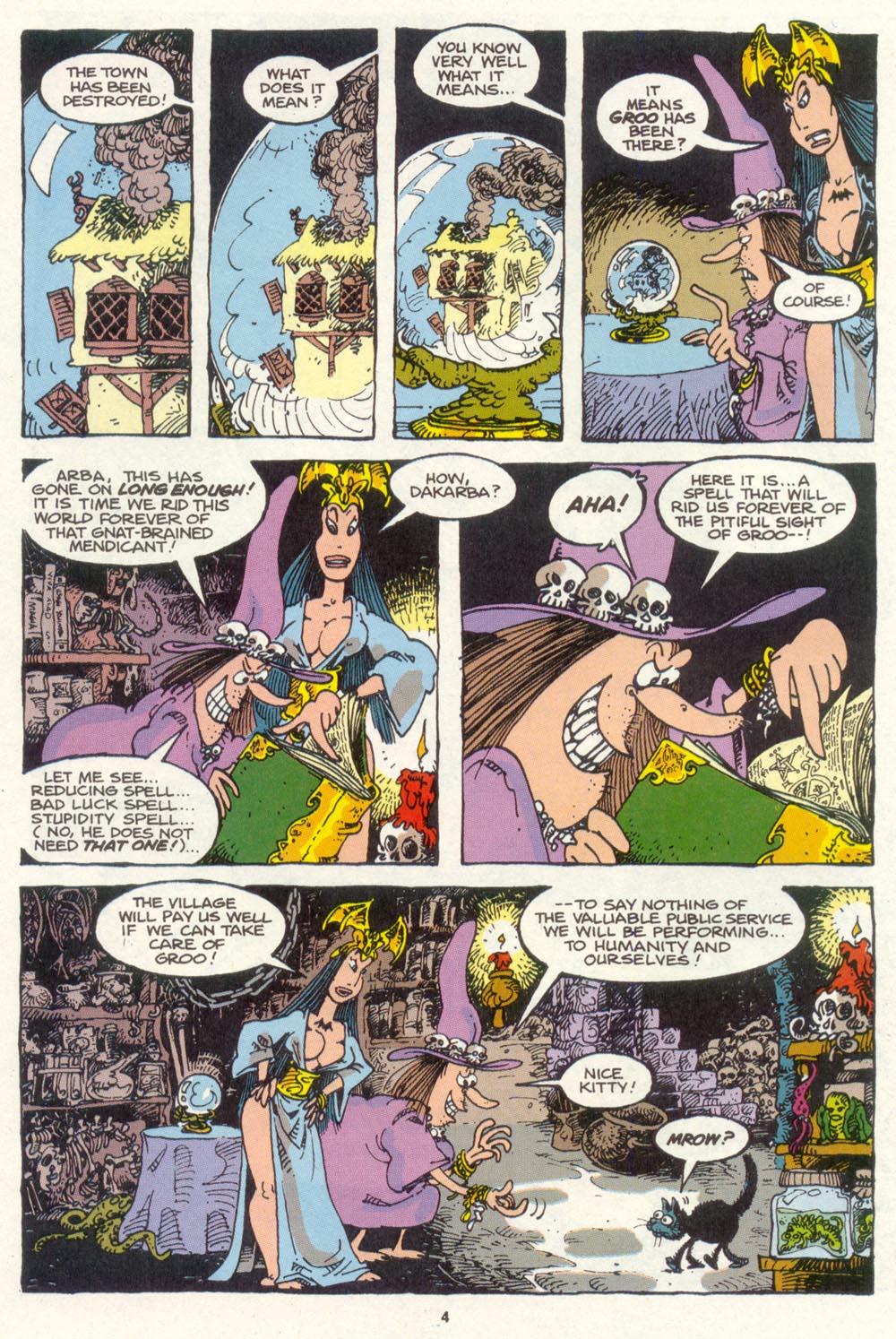 Read online Sergio Aragonés Groo the Wanderer comic -  Issue #85 - 4