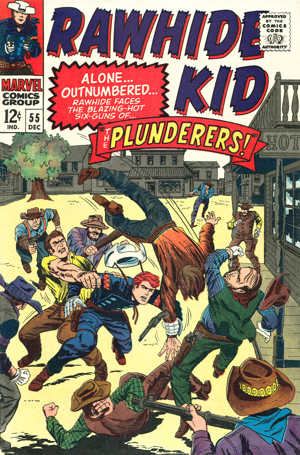 The Rawhide Kid (1955) issue 55 - Page 1