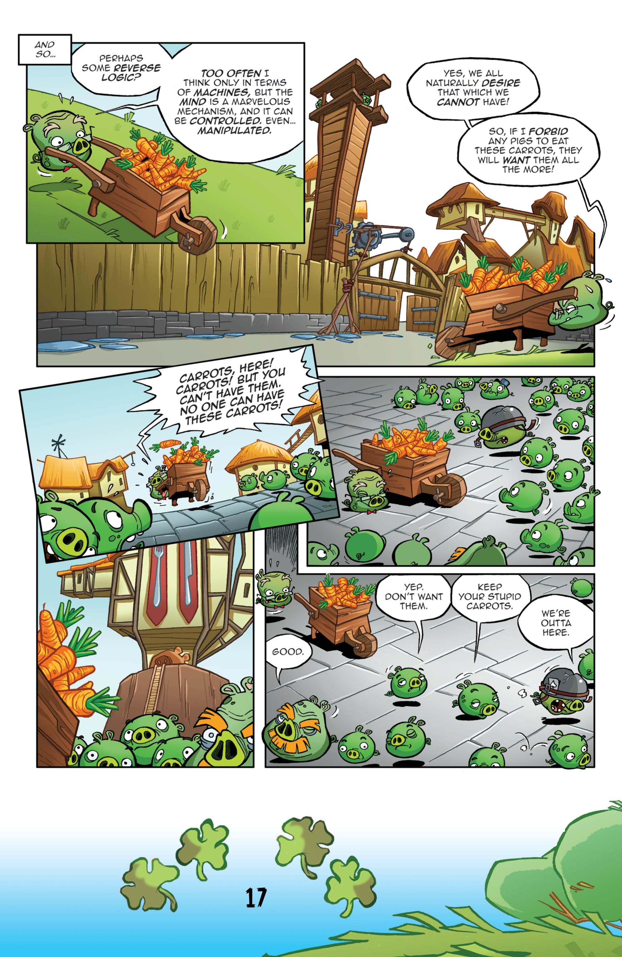 Read online Angry Birds Comics (2016) comic -  Issue #3 - 19