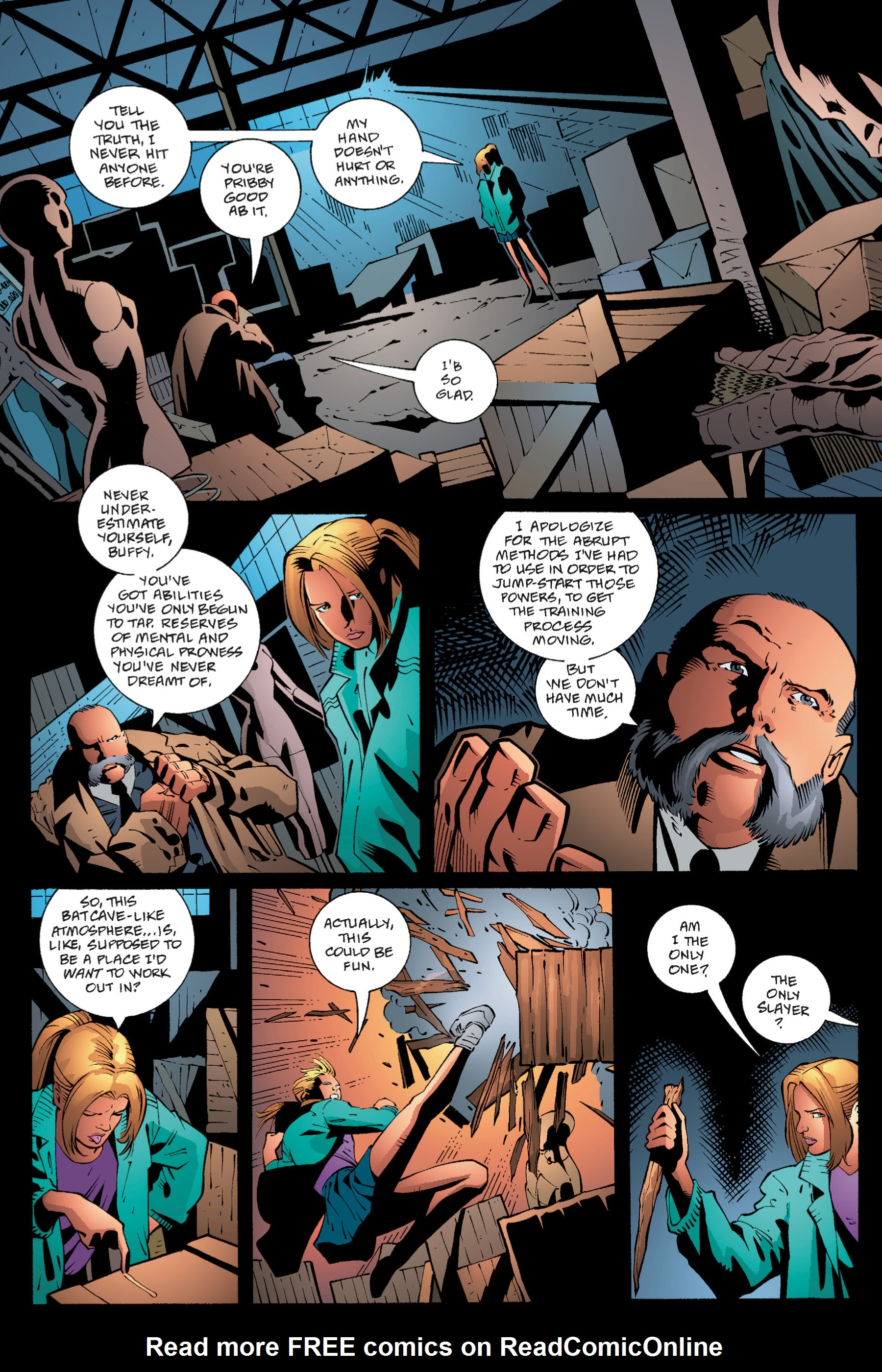 Read online Buffy the Vampire Slayer: Omnibus comic -  Issue # TPB 1 - 62
