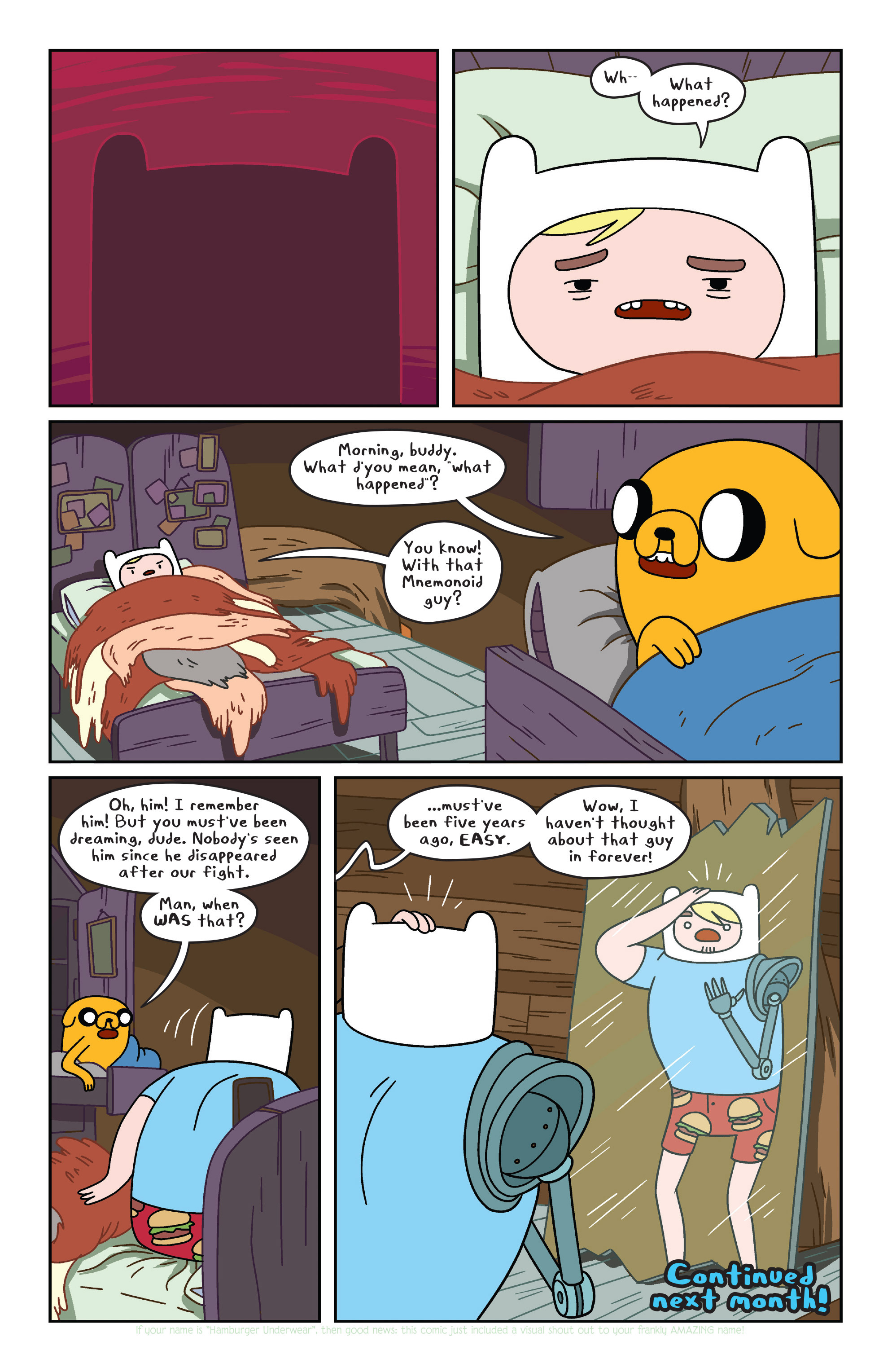 Read online Adventure Time comic -  Issue #31 - 18