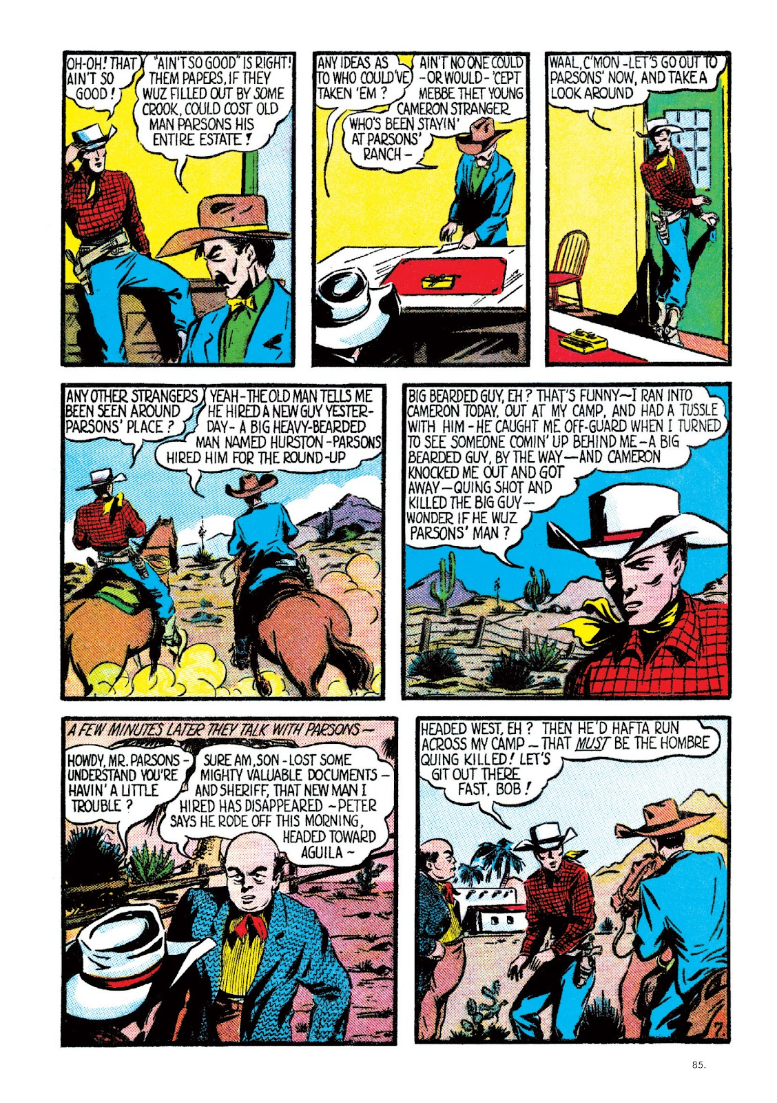 Read online The Bill Everett Archives comic -  Issue # TPB 2 (Part 1) - 86