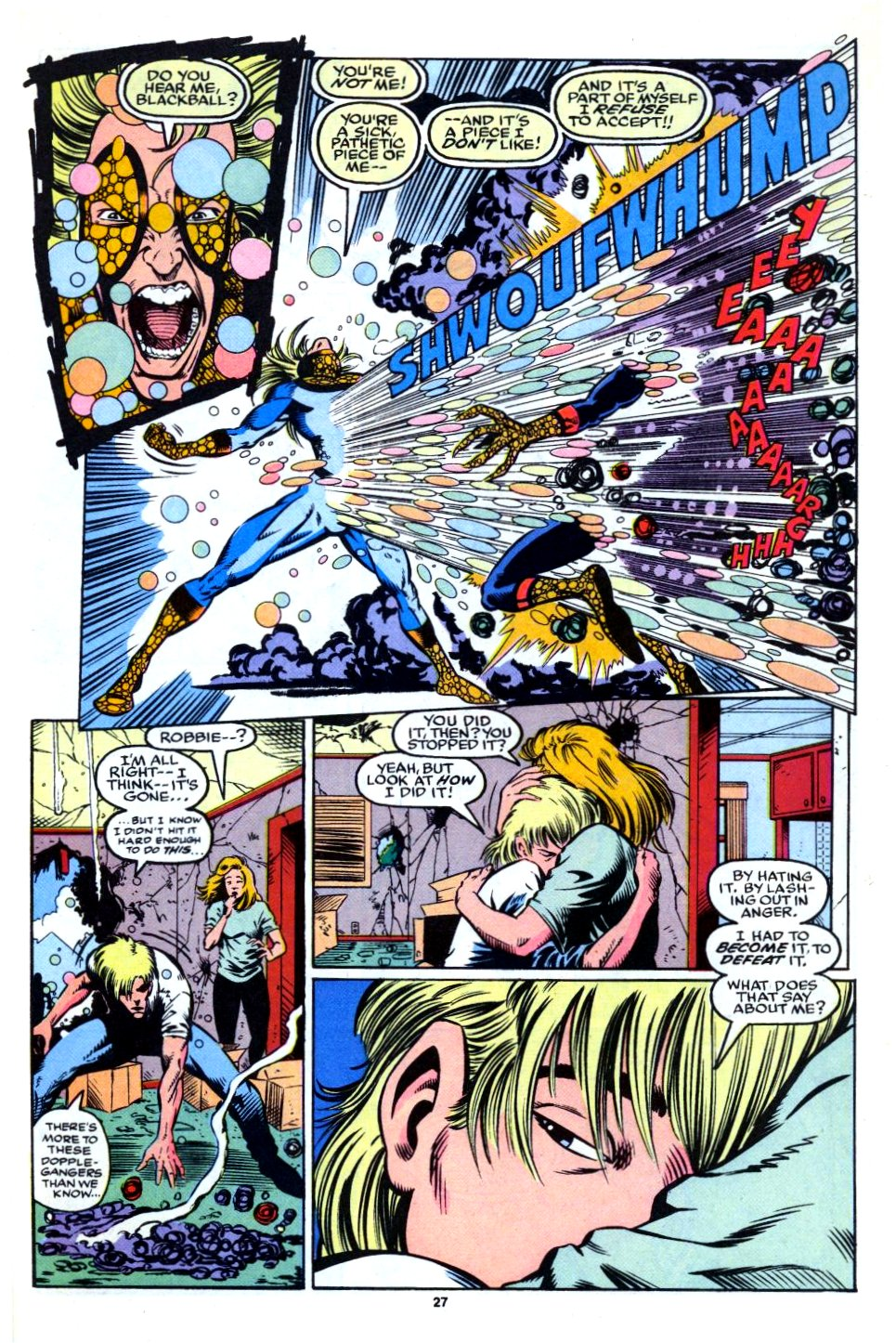 The New Warriors Issue #27 #31 - English 20