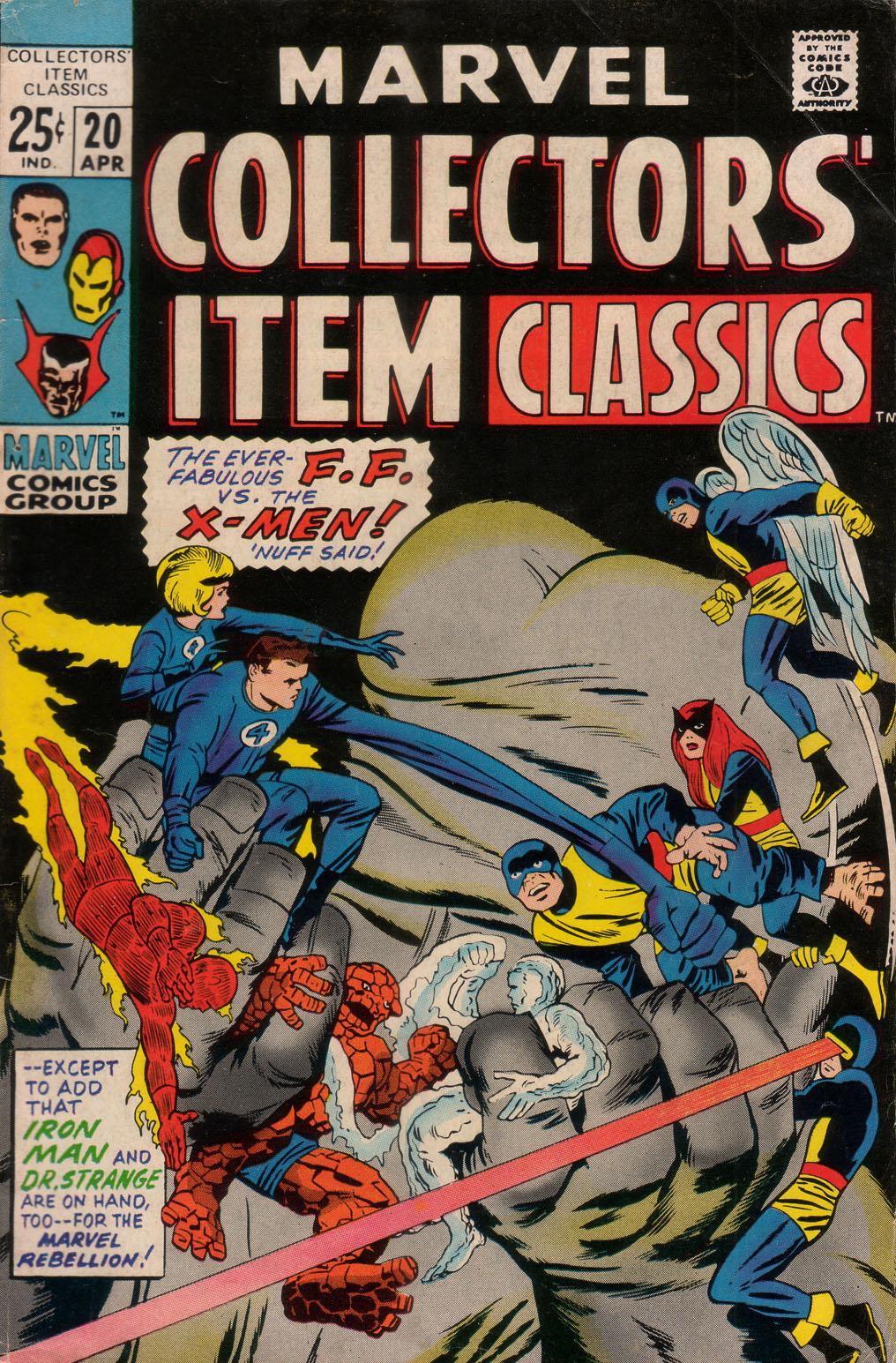 Marvel Collectors Item Classics 20 Page 1