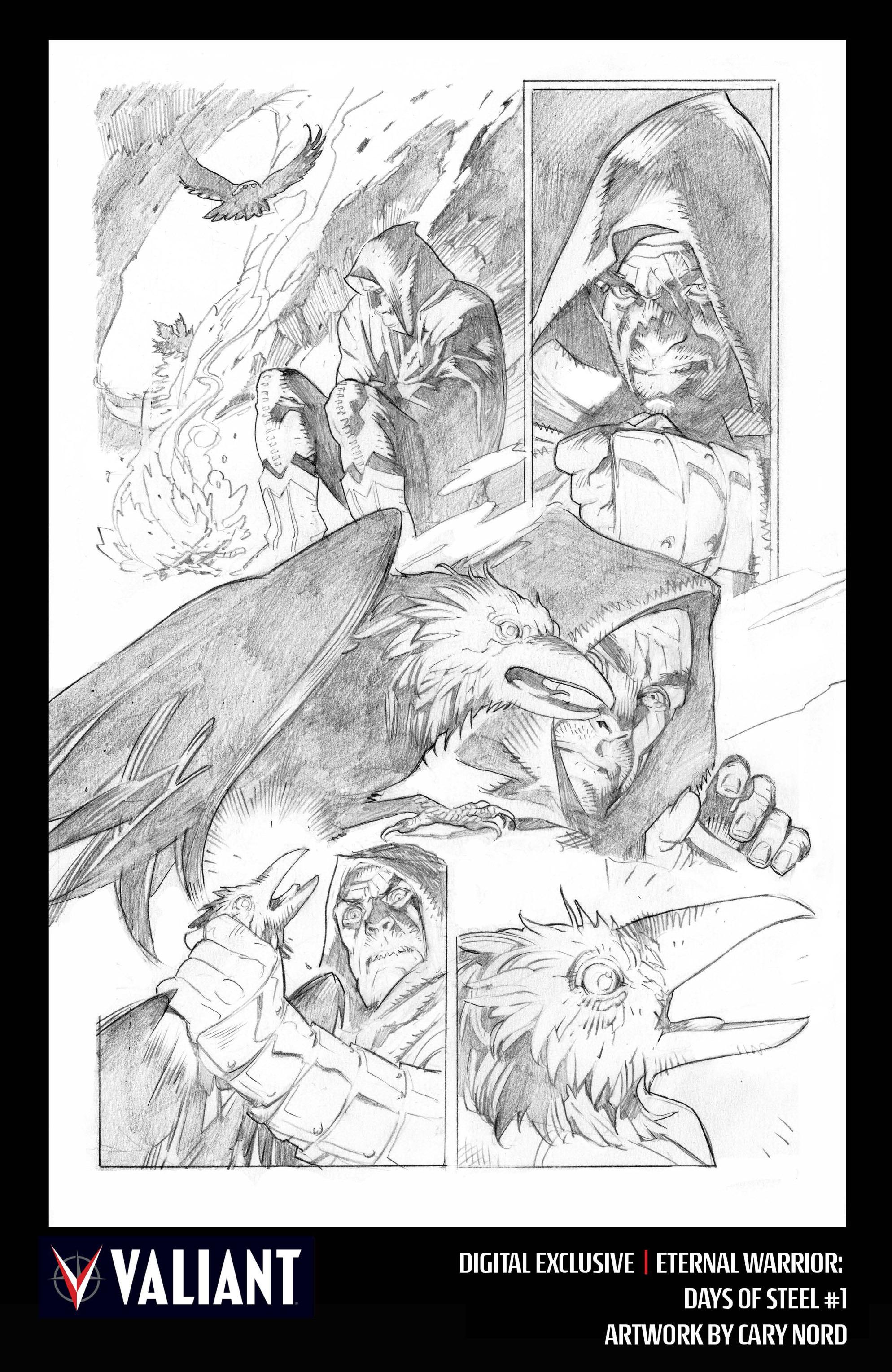 Read online Eternal Warrior: Days of Steel comic -  Issue #1 - 31