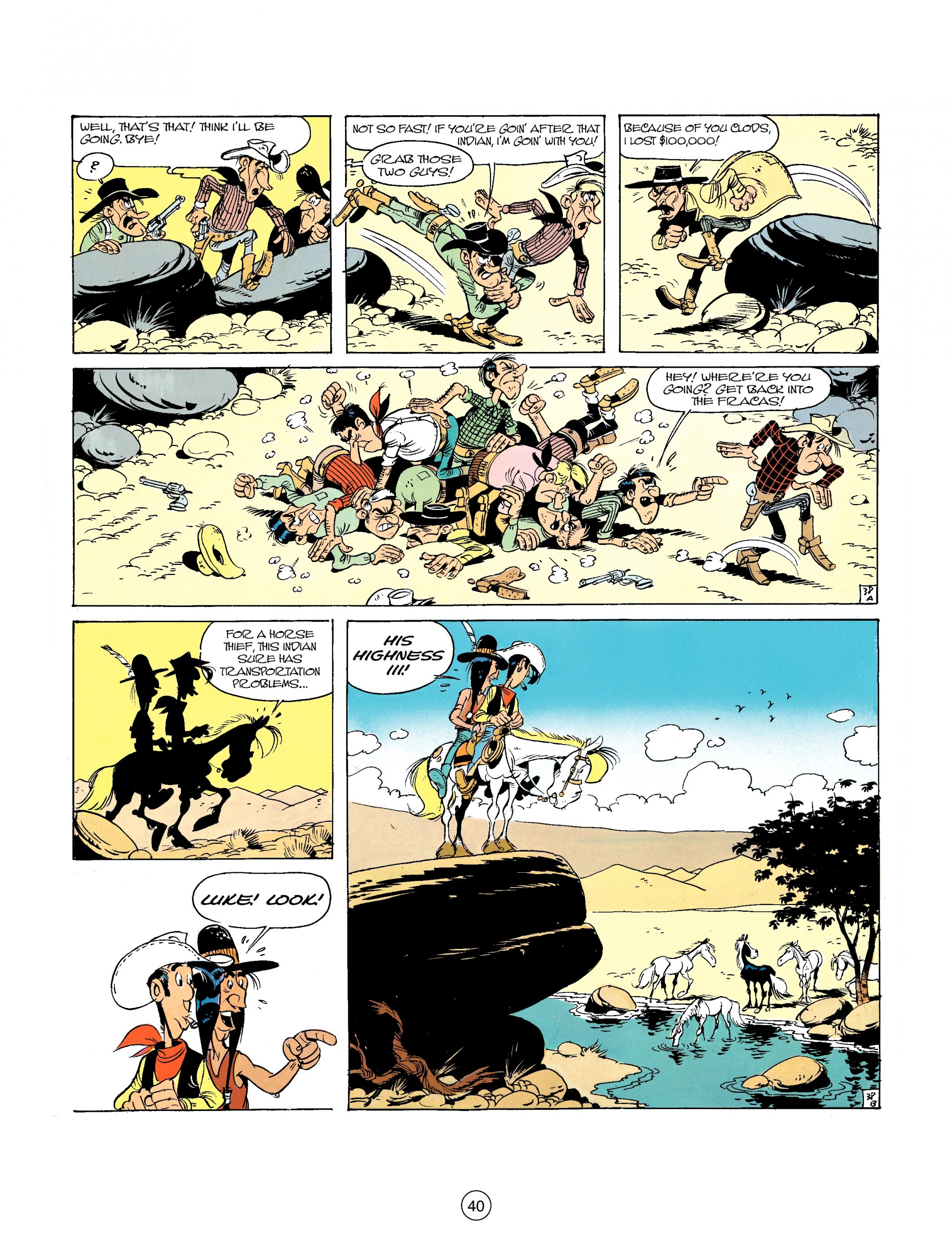 Read online A Lucky Luke Adventure comic -  Issue #26 - 40