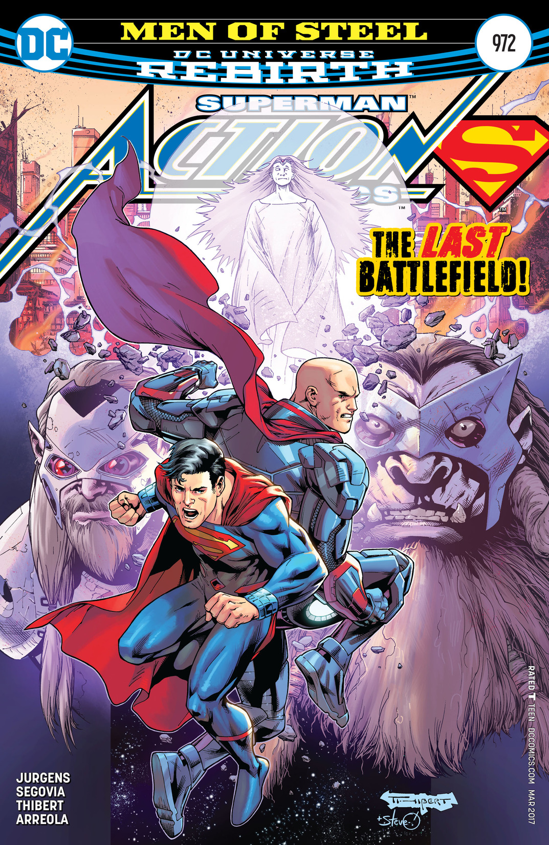 Read online Action Comics (2016) comic -  Issue #972 - 1