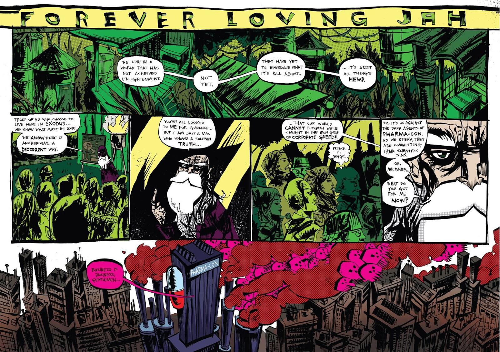 Read online Marijuanaman comic -  Issue # Full - 5