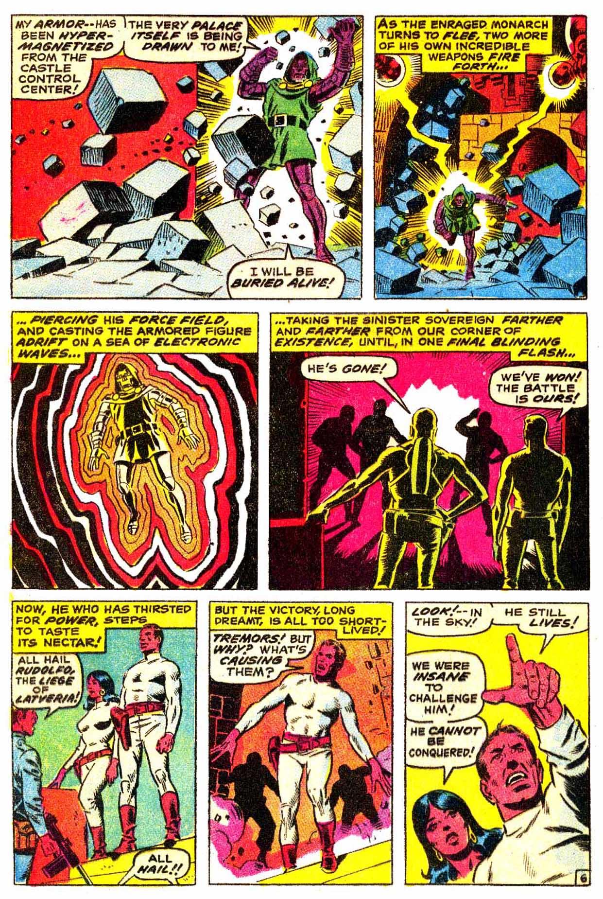 Read online Astonishing Tales (1970) comic -  Issue #3 - 7