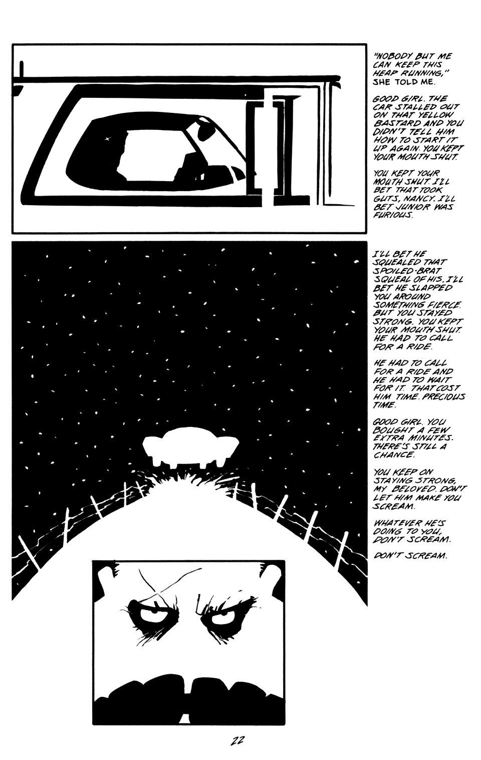 Read online Sin City: That Yellow Bastard comic -  Issue #6 - 22