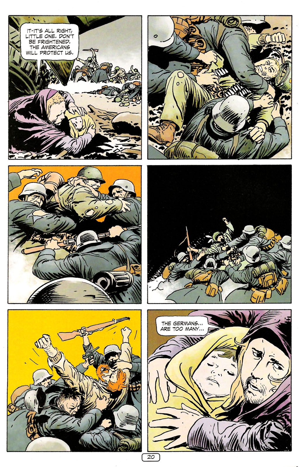 Read online Sgt. Rock: The Prophecy comic -  Issue #4 - 20