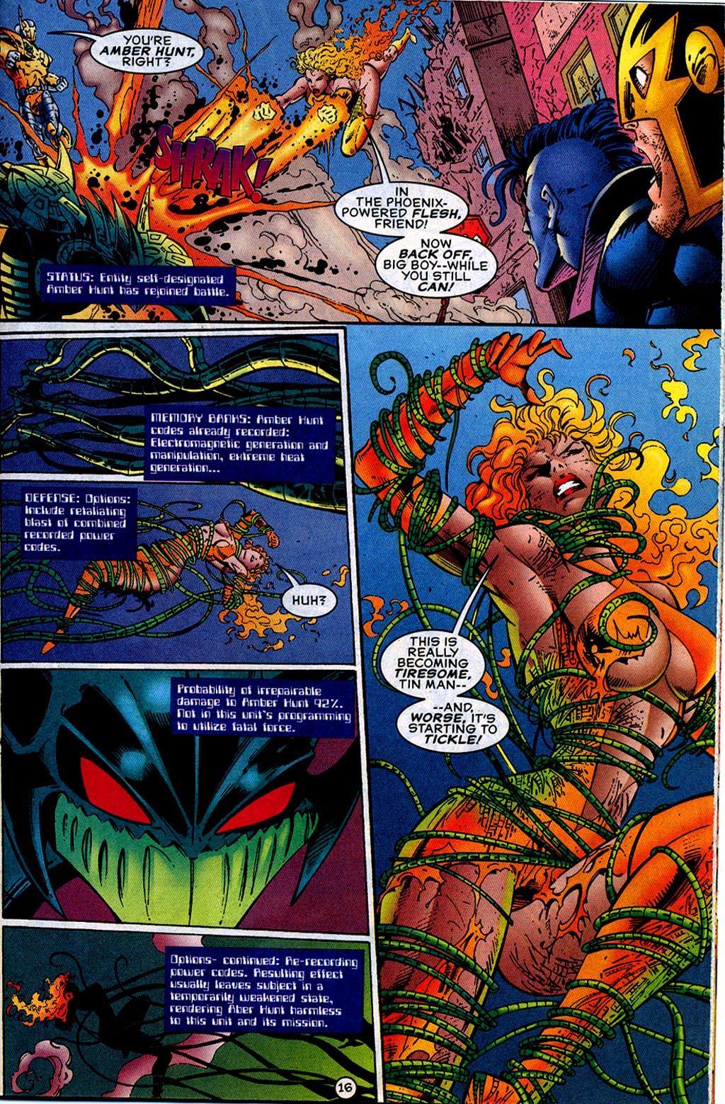 Read online UltraForce (1995) comic -  Issue #12 - 18