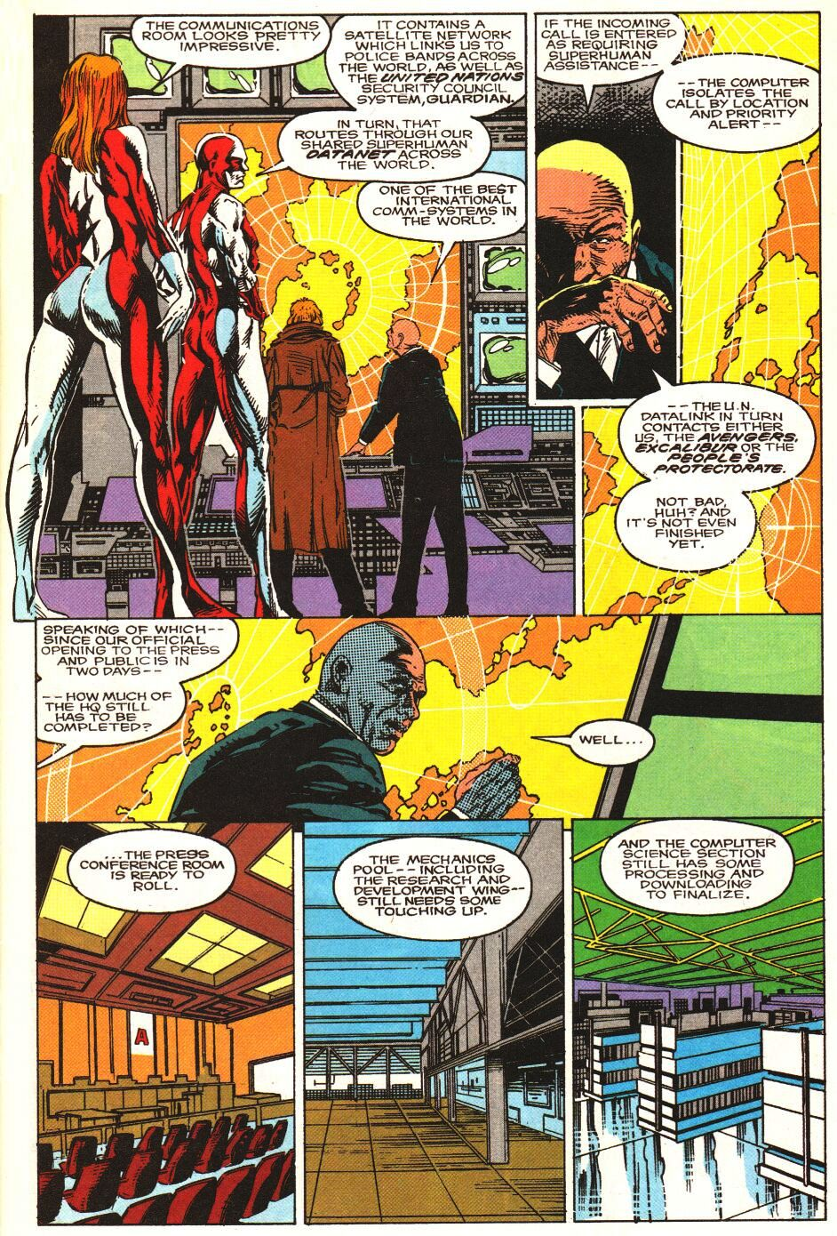 Read online Alpha Flight Special comic -  Issue #1 - 4
