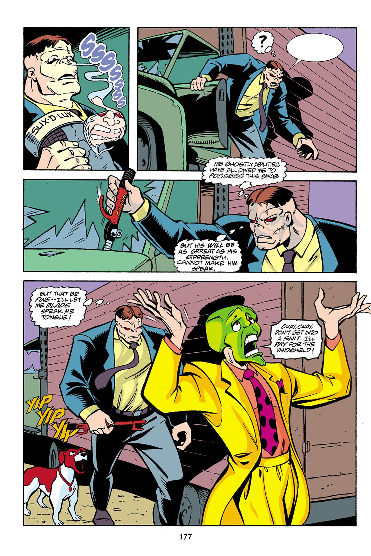 Read online Adventures Of The Mask Omnibus comic -  Issue #Adventures Of The Mask Omnibus Full - 176