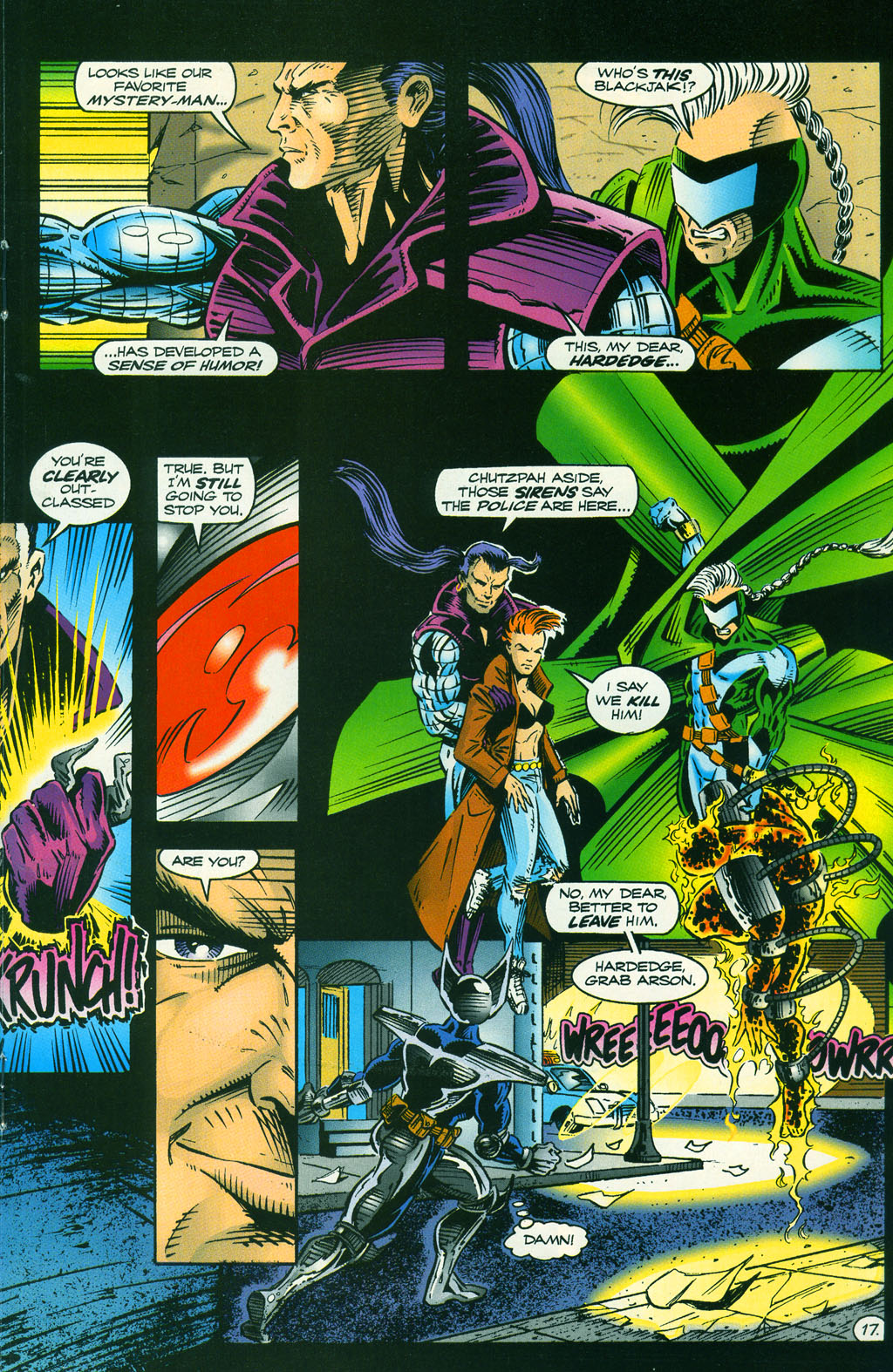 Read online ShadowHawk comic -  Issue #5 - 23