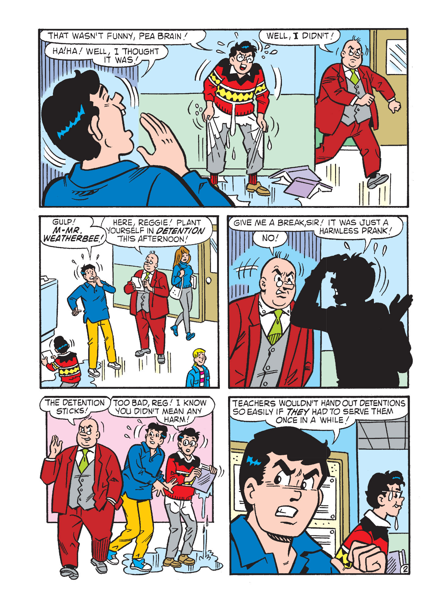 Read online Archie's Funhouse Double Digest comic -  Issue #3 - 116
