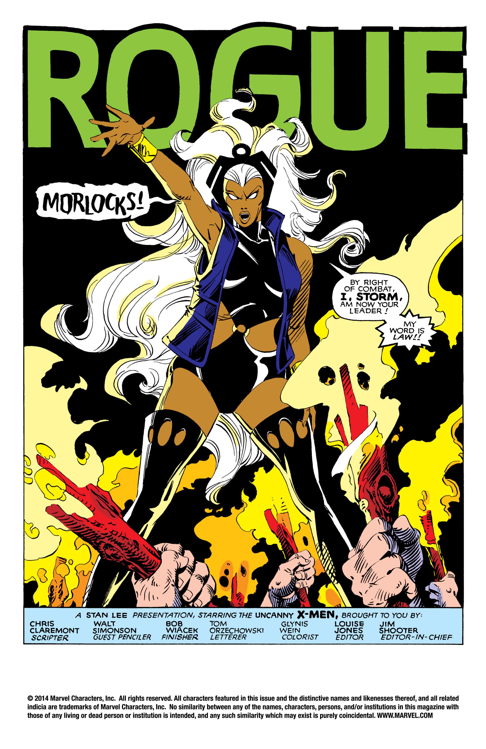 Read online Uncanny X-Men (1963) comic -  Issue #171 - 2