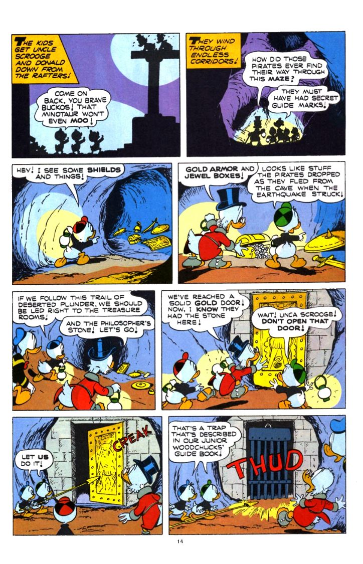 Read online Uncle Scrooge (1953) comic -  Issue #253 - 14