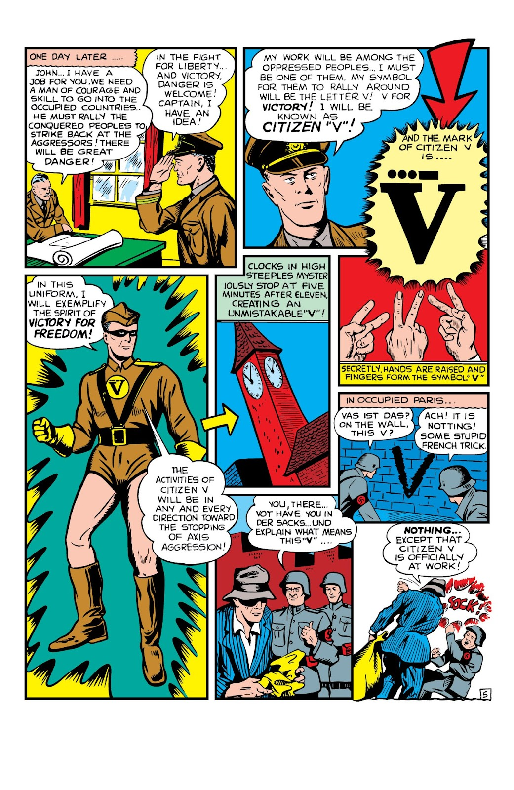 Daring Mystery Comics issue 8 - Page 7