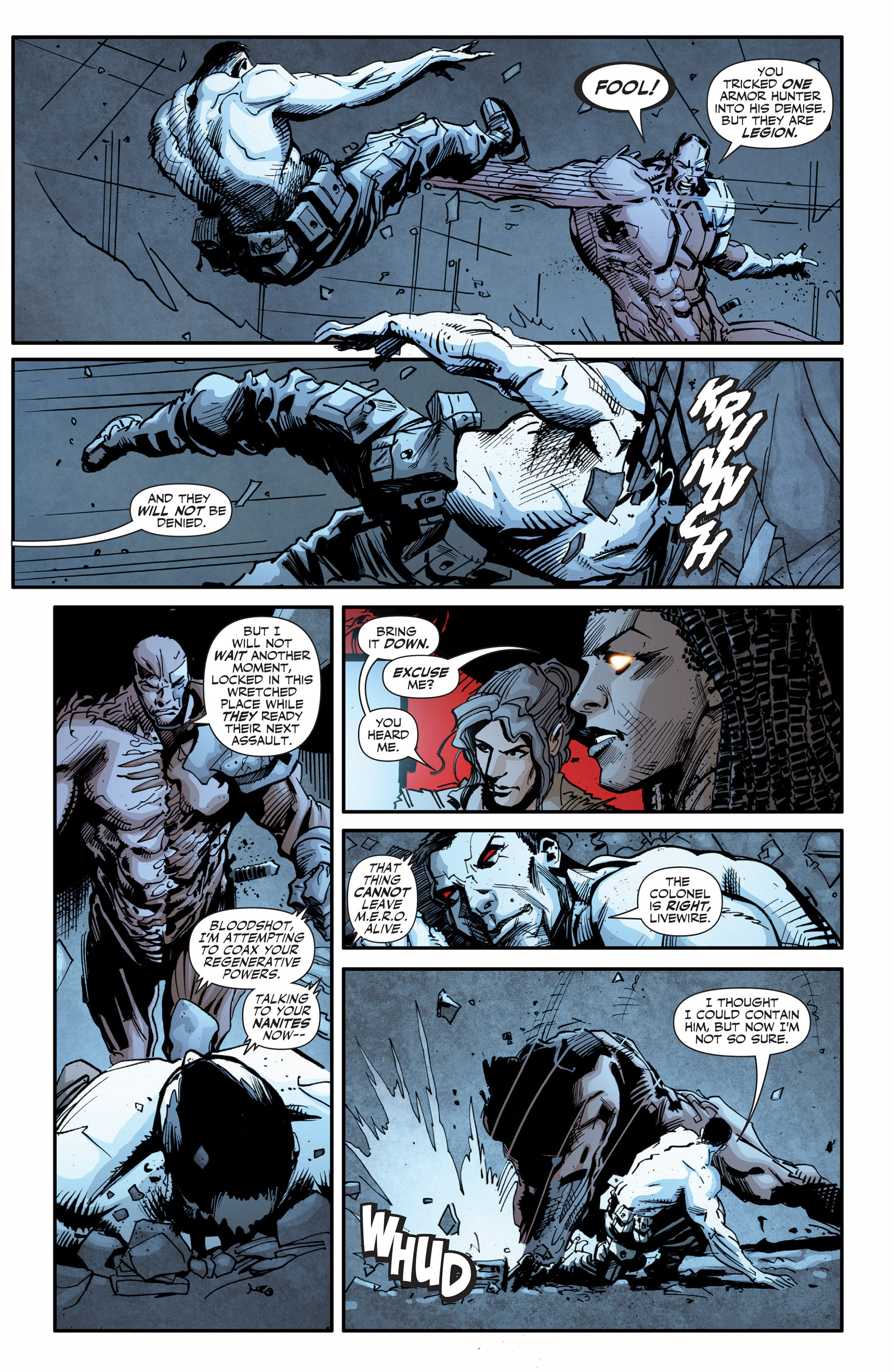 Read online Armor Hunters: Bloodshot comic -  Issue #3 - 11