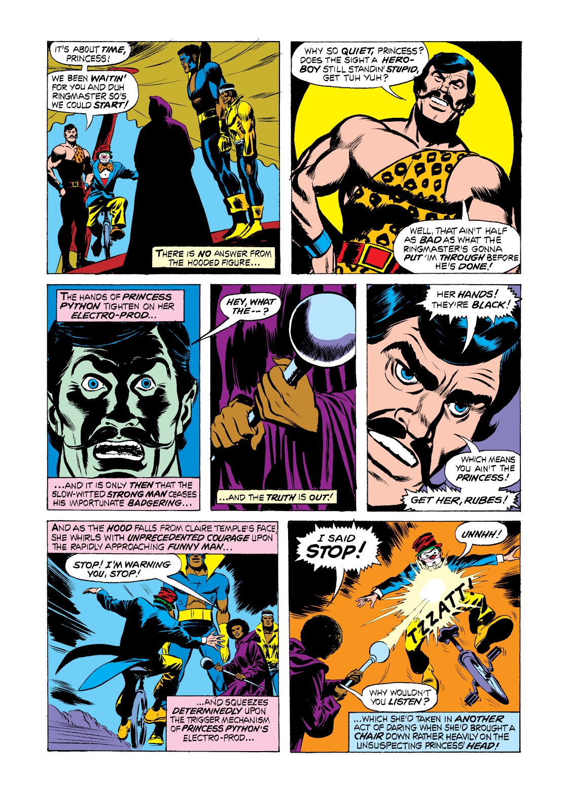 Read online Marvel Masterworks: Luke Cage, Power Man comic -  Issue # TPB 2 (Part 2) - 70