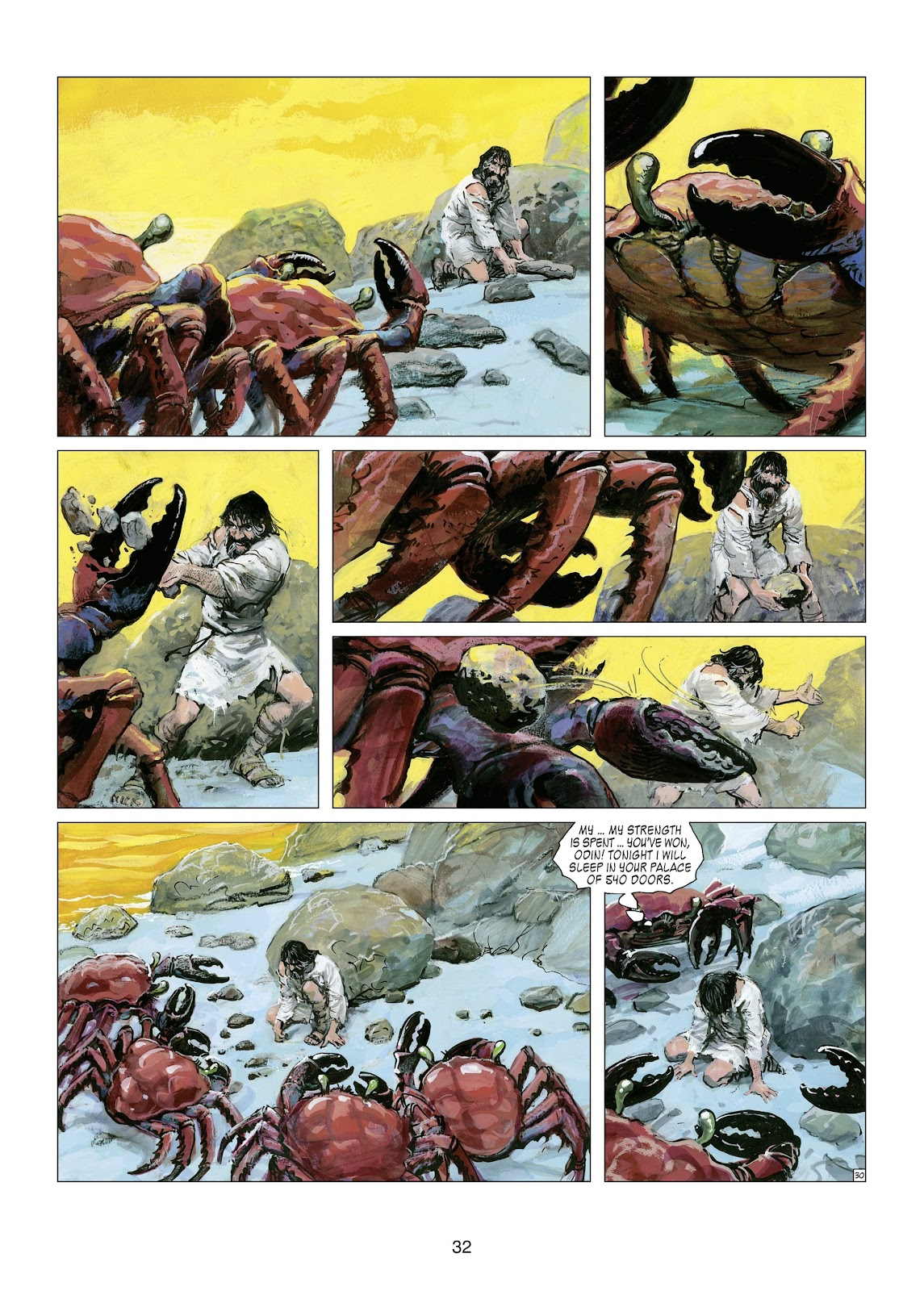 Read online Thorgal comic -  Issue #21 - 34