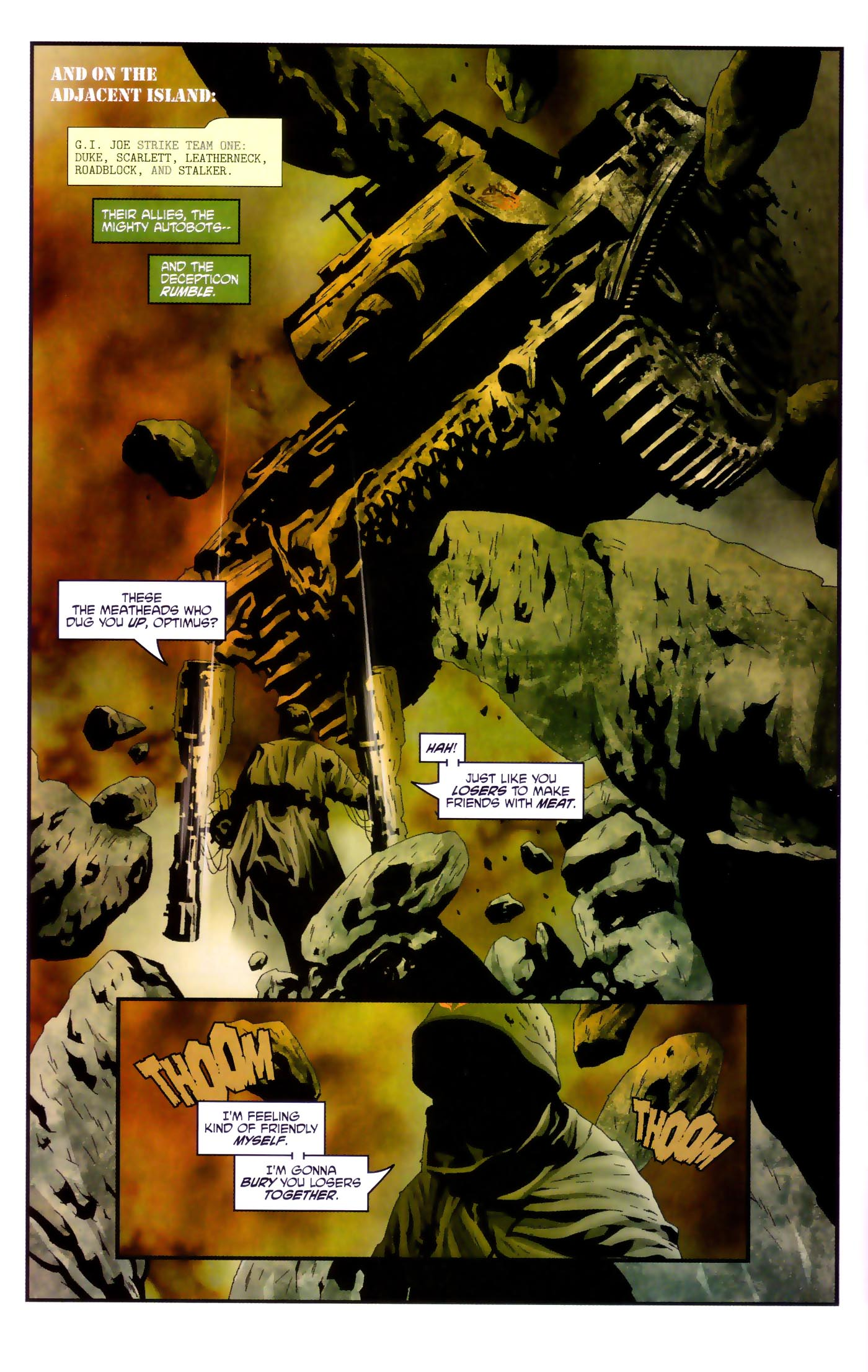 Read online Transformers/G.I. Joe comic -  Issue #4 - 8