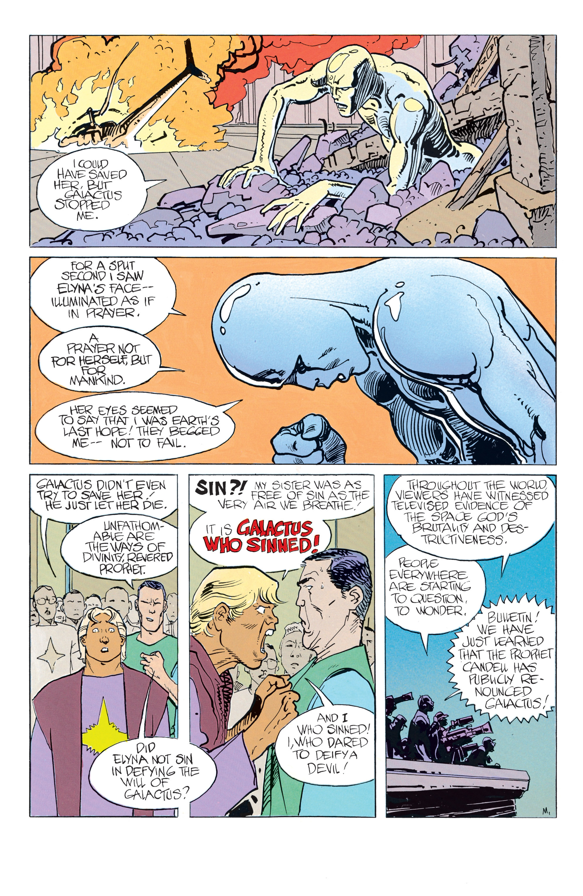 Read online Silver Surfer: Parable comic -  Issue # TPB - 44