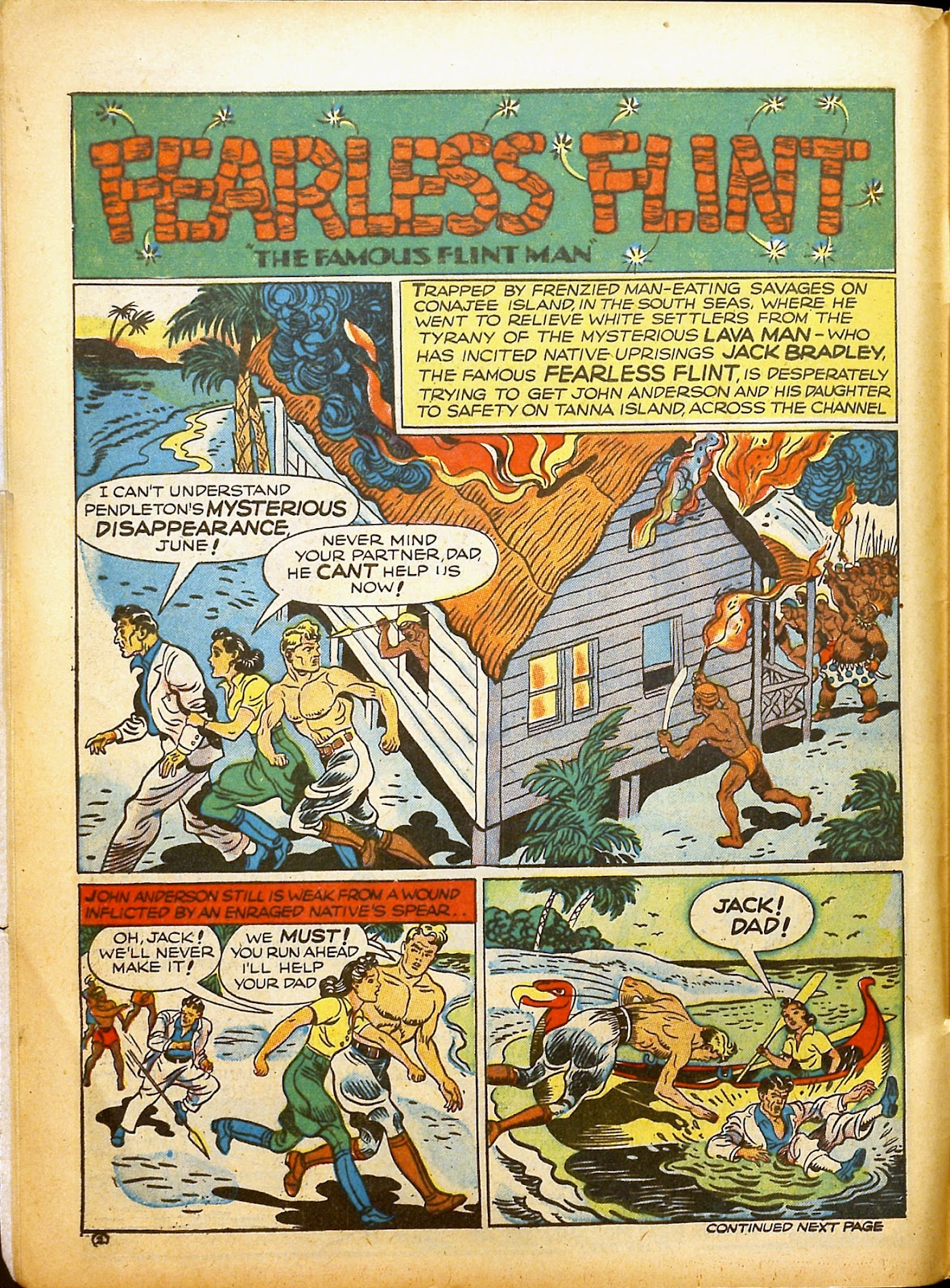 Read online Famous Funnies comic -  Issue #91 - 12