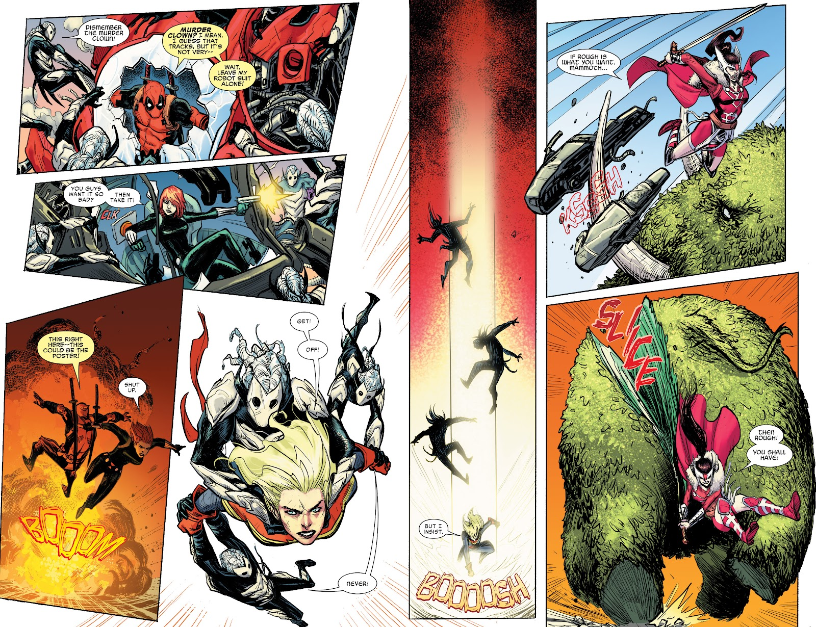 Read online War of the Realms Strikeforce: The War Avengers comic -  Issue # Full - 19