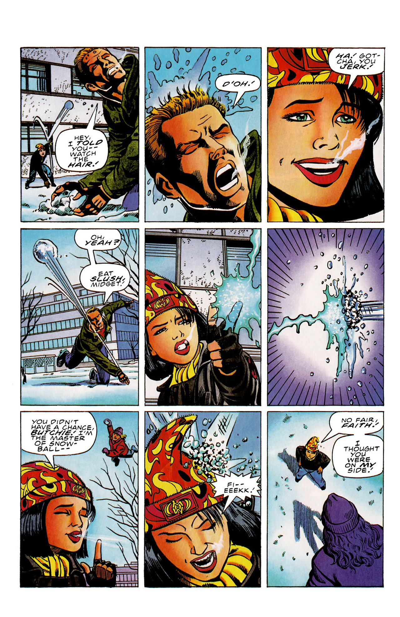 Read online Harbinger (1992) comic -  Issue #29 - 7