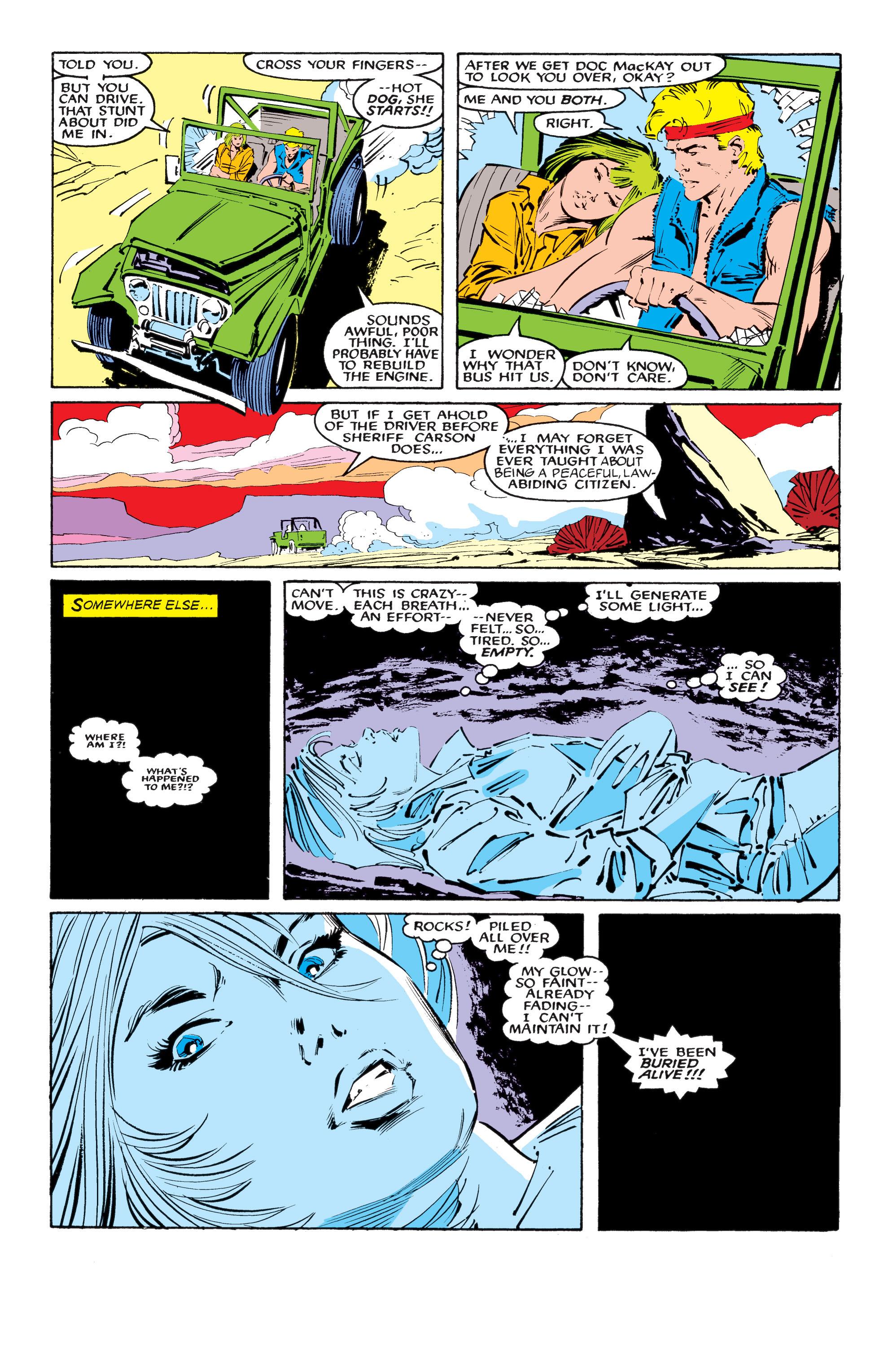 Read online Uncanny X-Men (1963) comic -  Issue #218 - 6