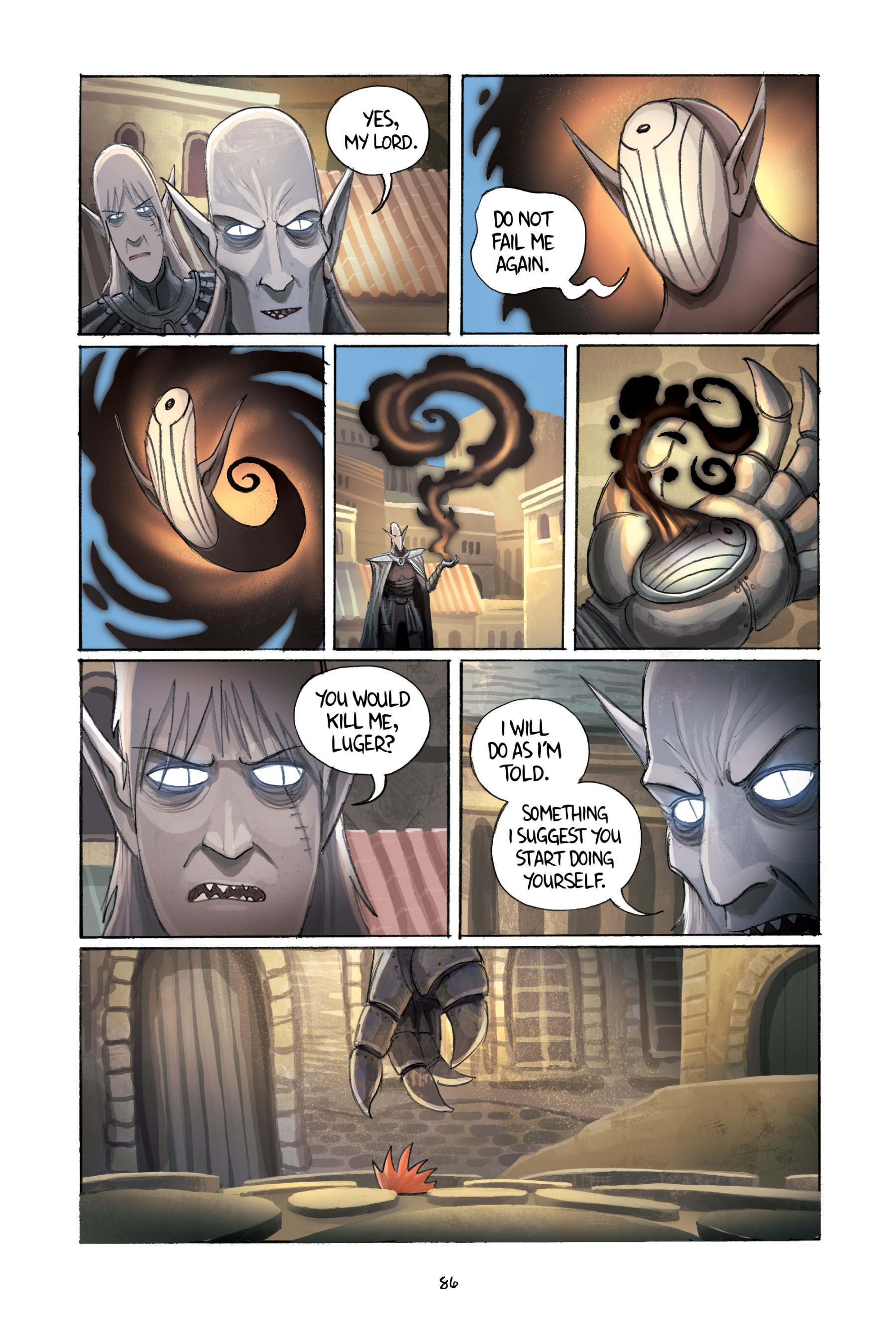 Read online Amulet comic -  Issue #2 - 87
