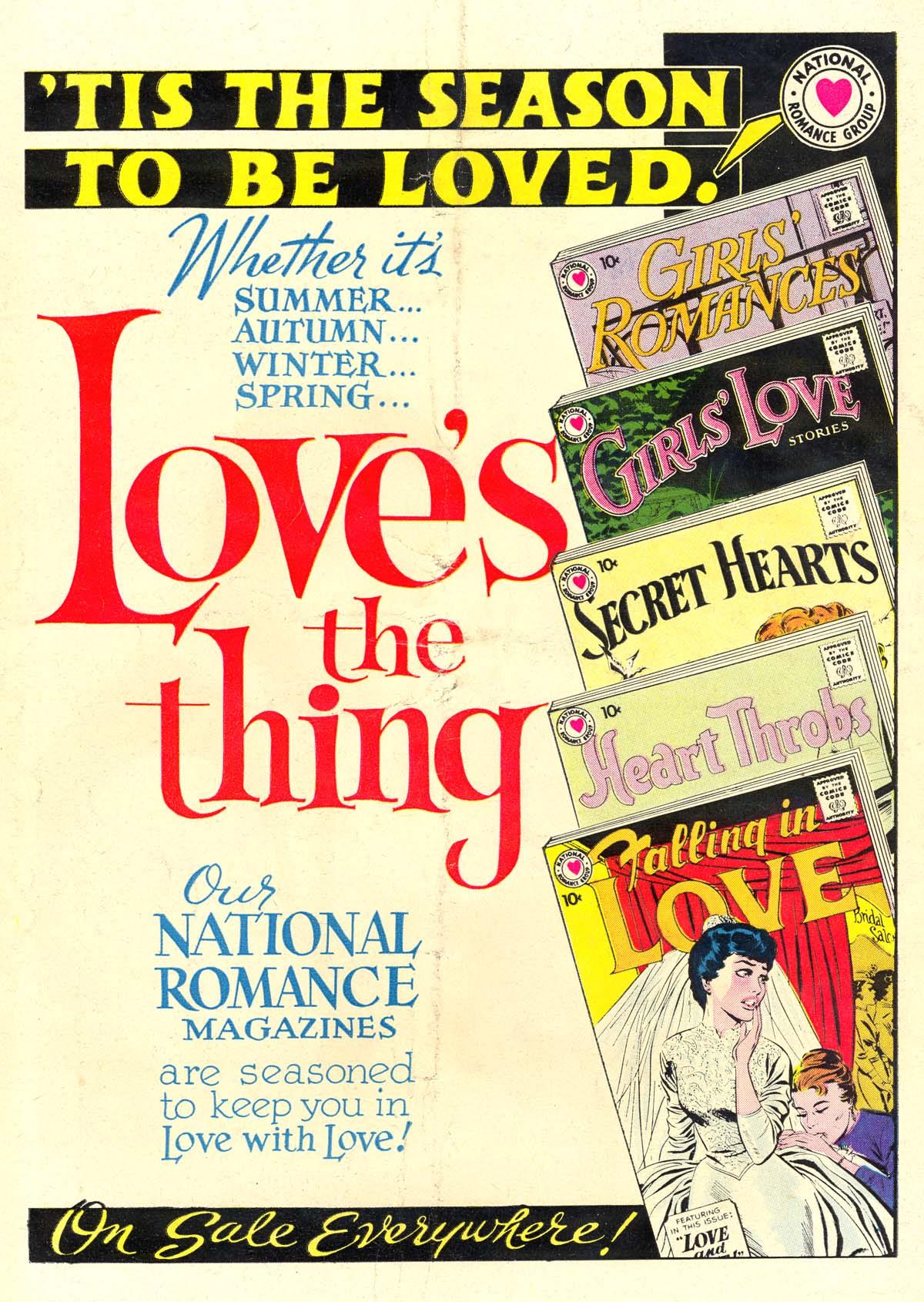 Read online Secret Hearts comic -  Issue #60 - 36