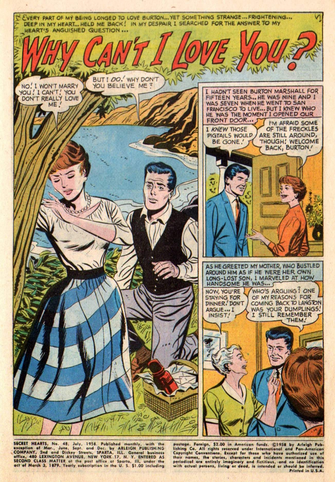 Read online Secret Hearts comic -  Issue #48 - 3