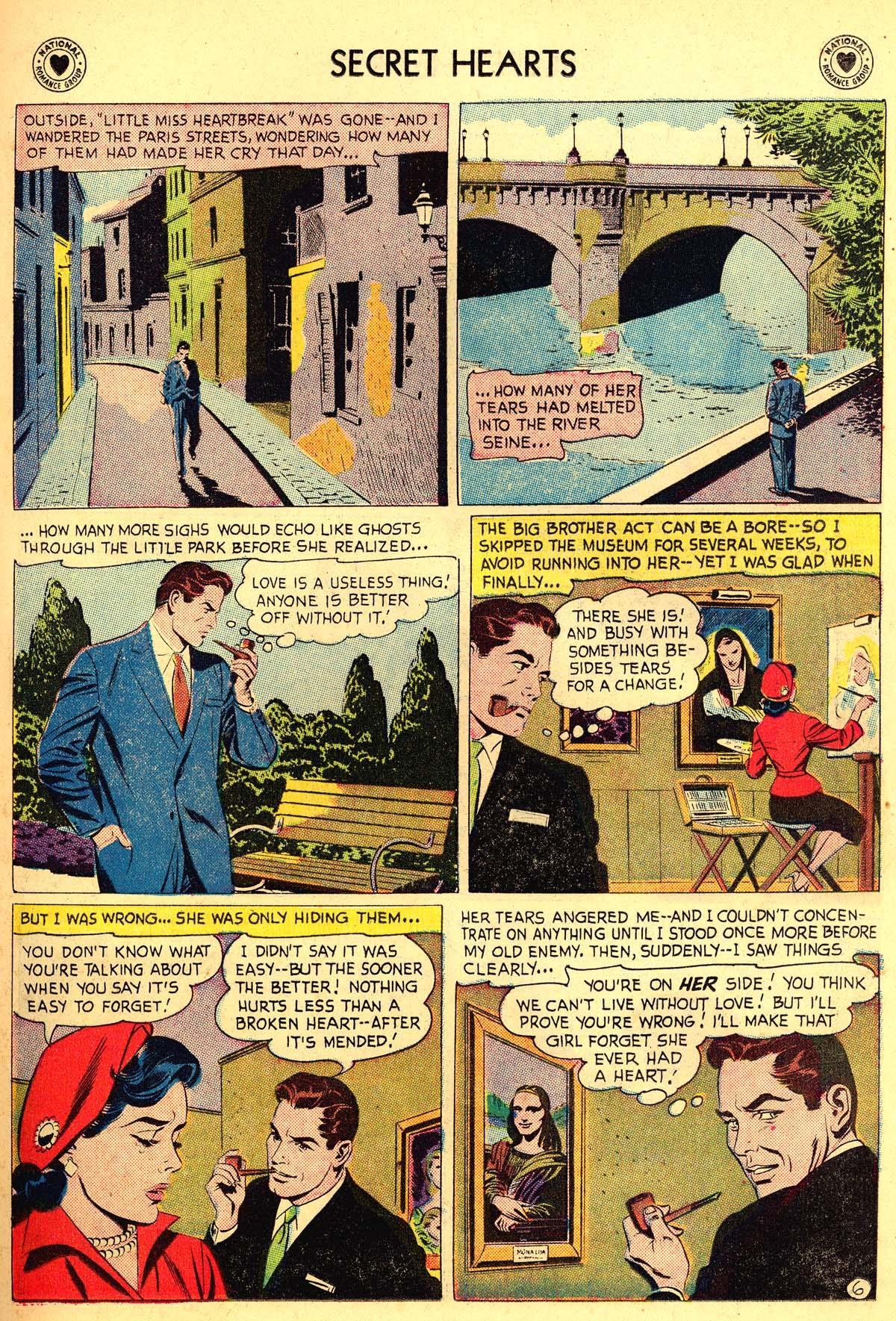 Read online Secret Hearts comic -  Issue #54 - 31
