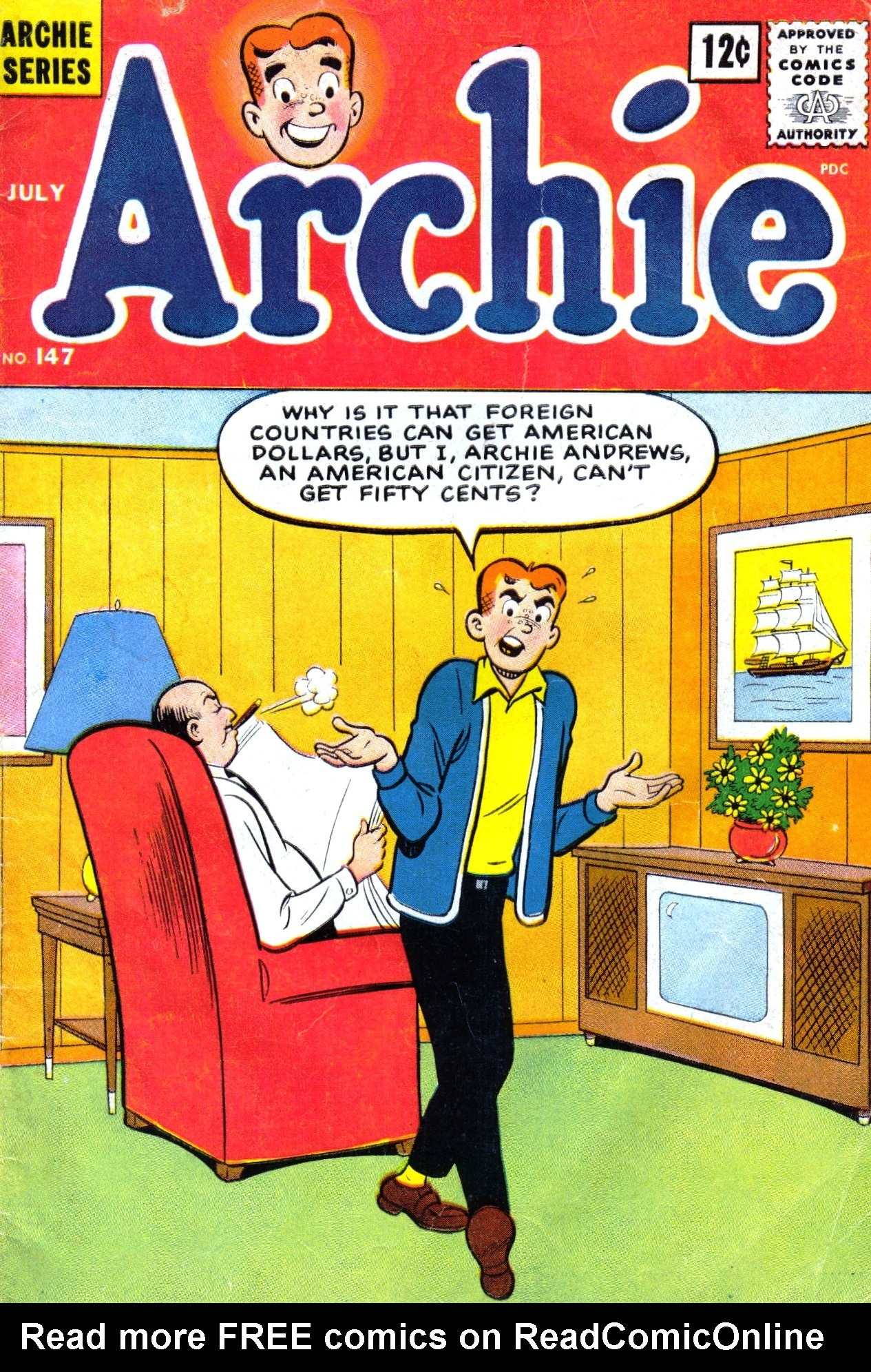 Read online Archie (1960) comic -  Issue #147 - 1