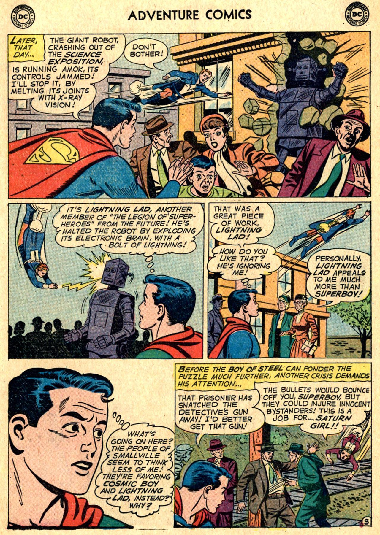 Read online Adventure Comics (1938) comic -  Issue #267 - 5