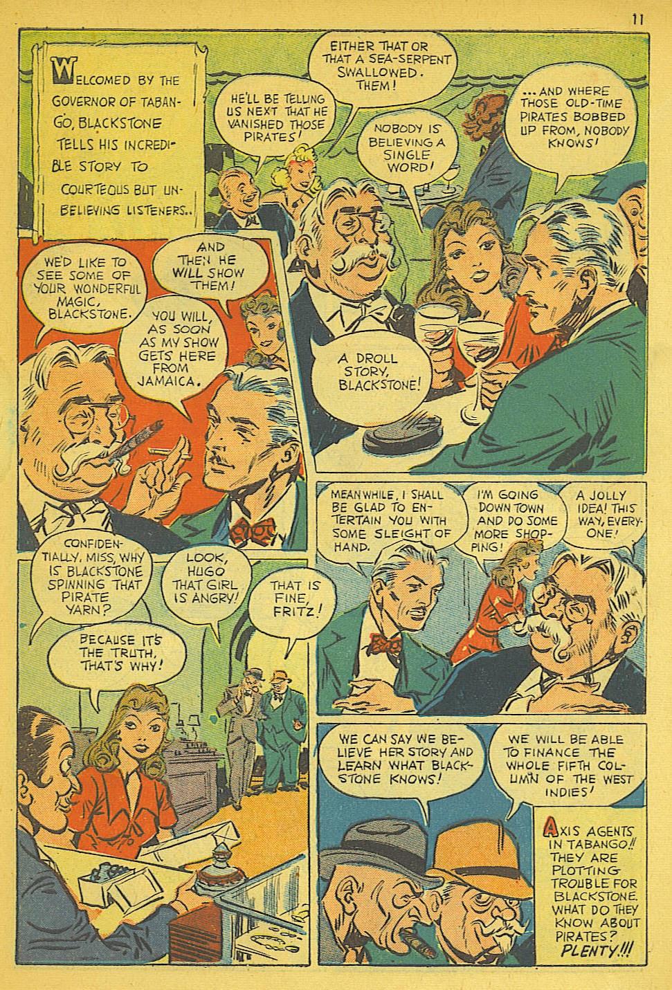 Read online Super-Magician Comics comic -  Issue #19 - 11