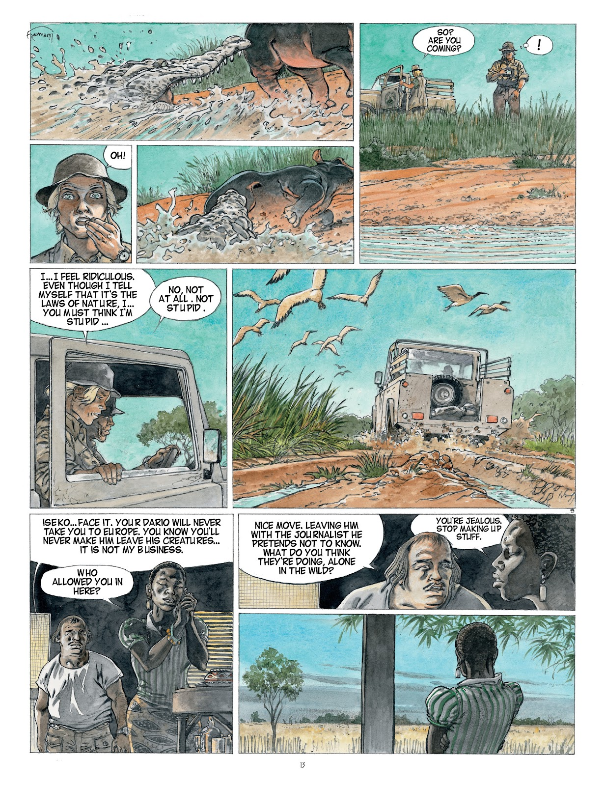 Read online Afrika comic -  Issue # TPB - 13
