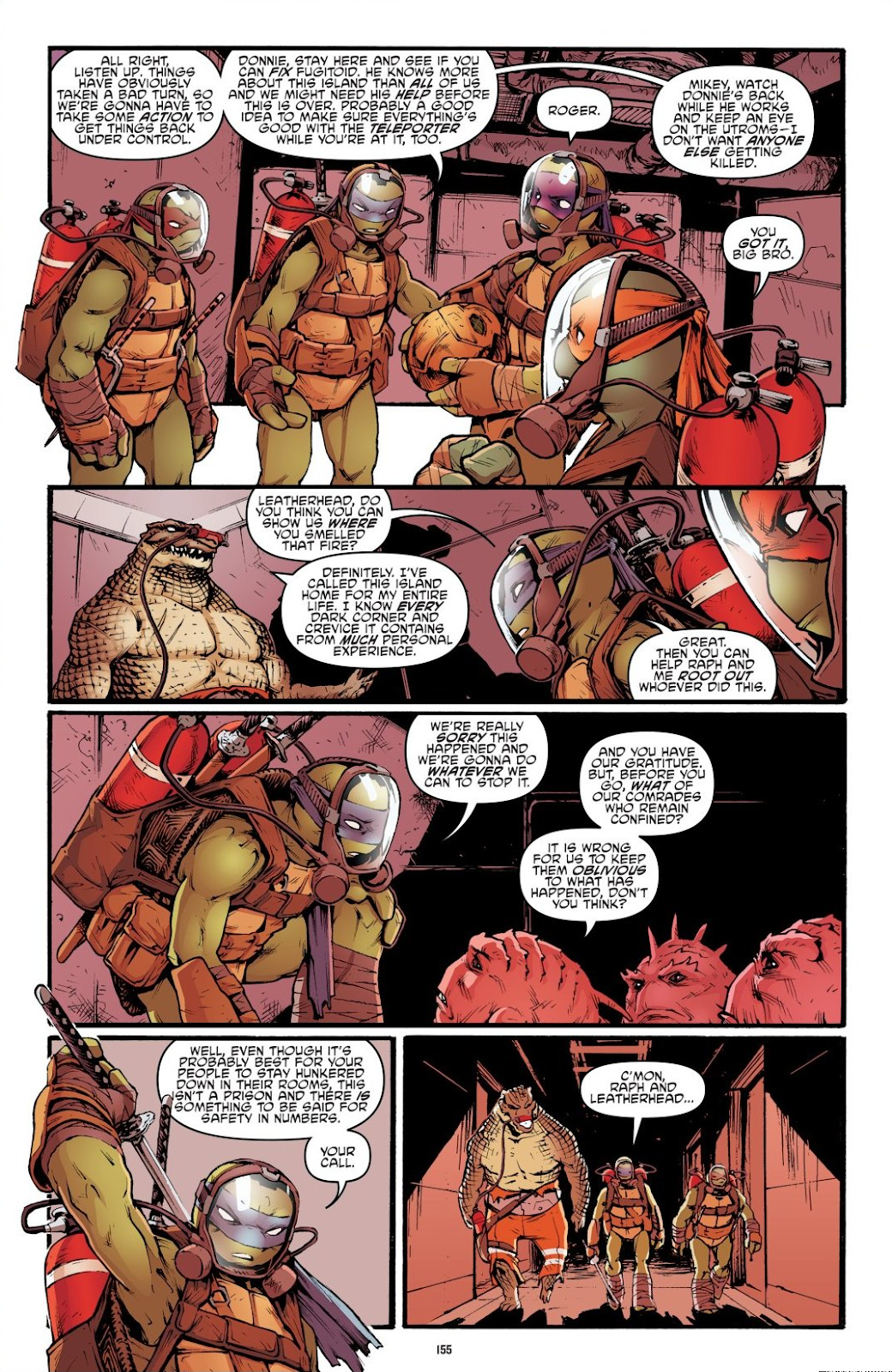 Read online Teenage Mutant Ninja Turtles: The IDW Collection comic -  Issue # TPB 7 (Part 2) - 50