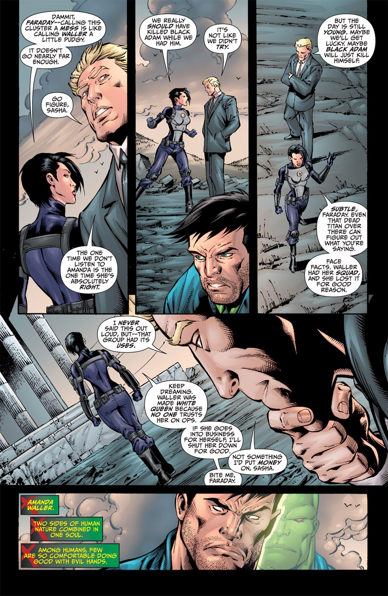 Read online World War III comic -  Issue #3 - 12