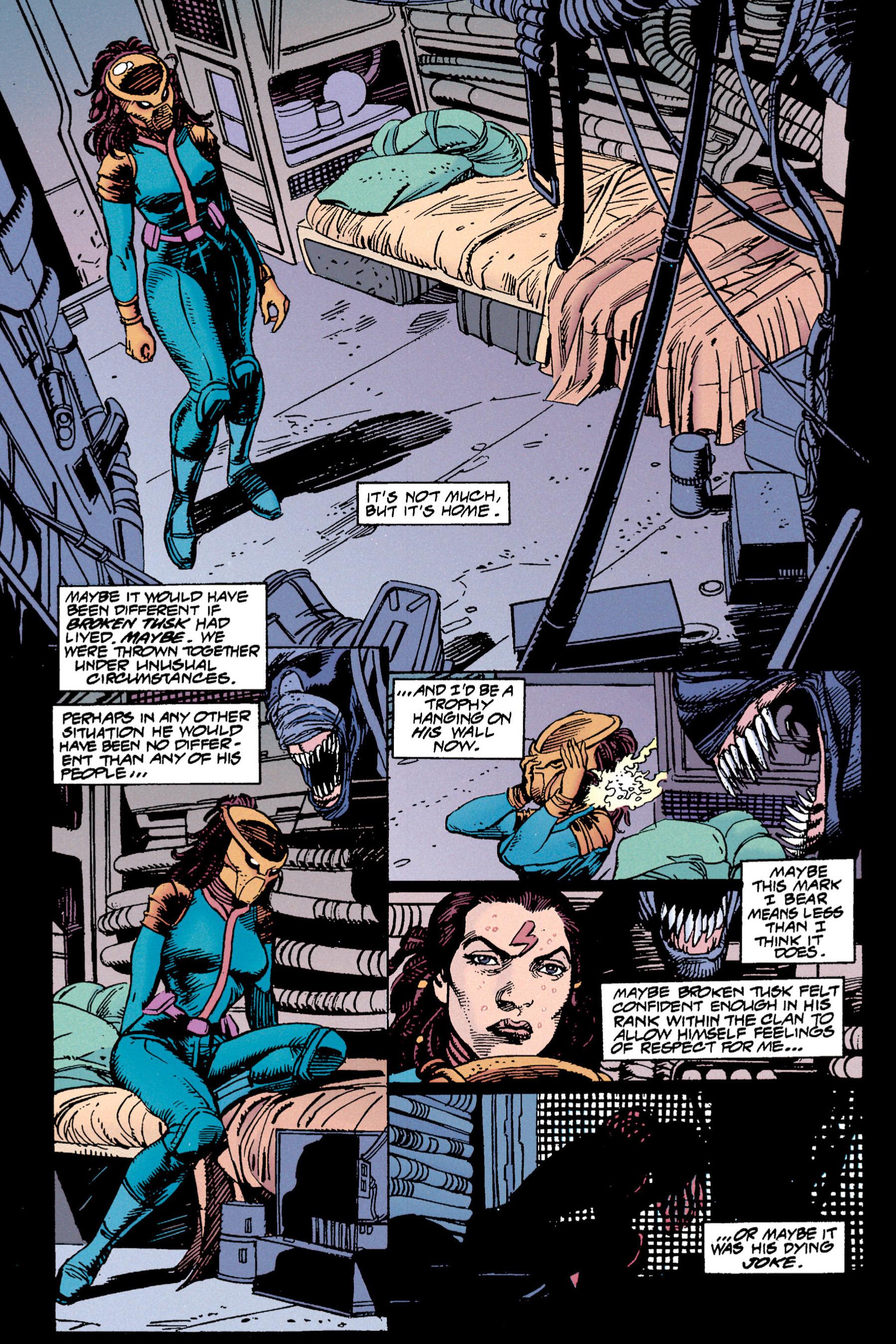 Read online Aliens vs. Predator Omnibus comic -  Issue # _TPB 1 Part 3 - 46