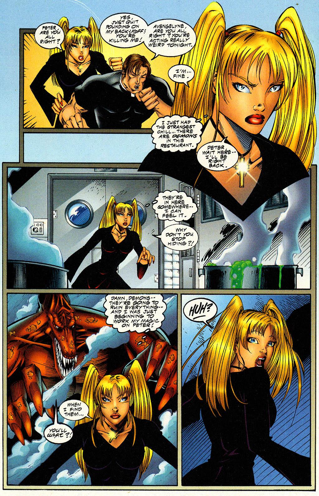 Read online Avengelyne (1996) comic -  Issue #6 - 19