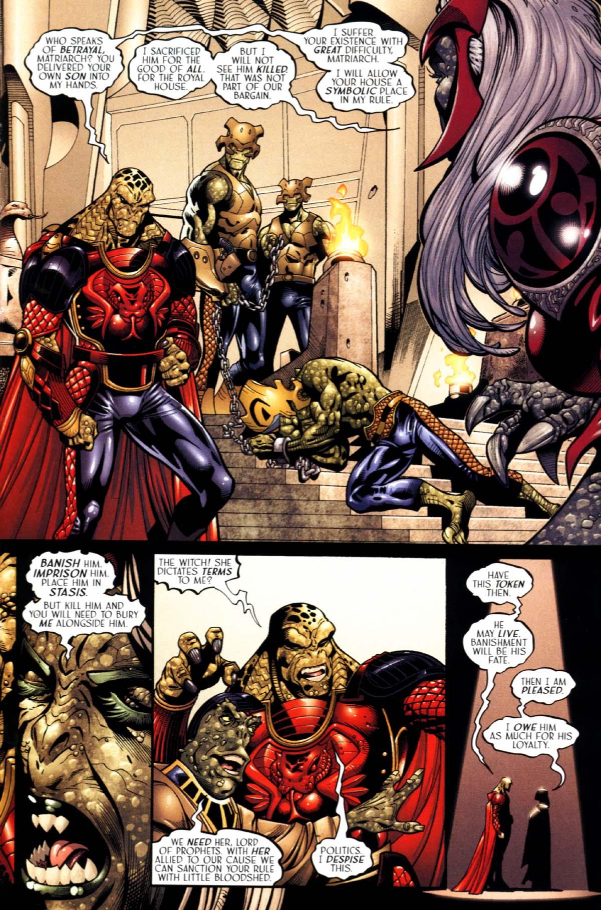 Read online Sigil (2000) comic -  Issue #22 - 17