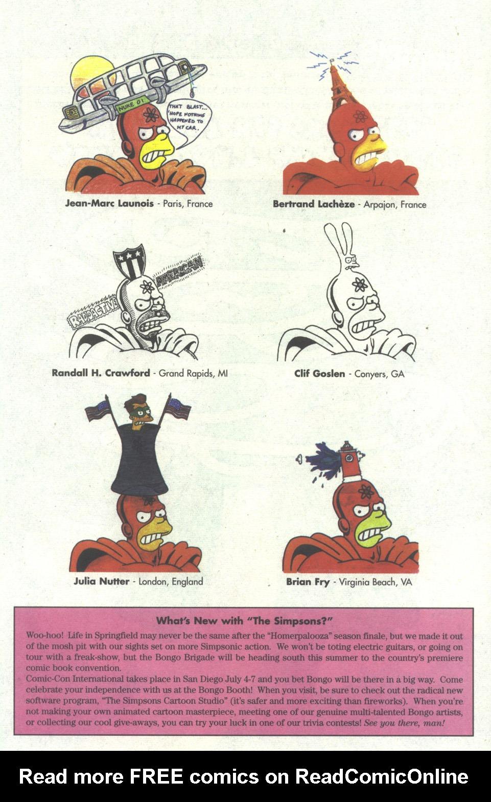 Read online Simpsons Comics comic -  Issue #21 - 25
